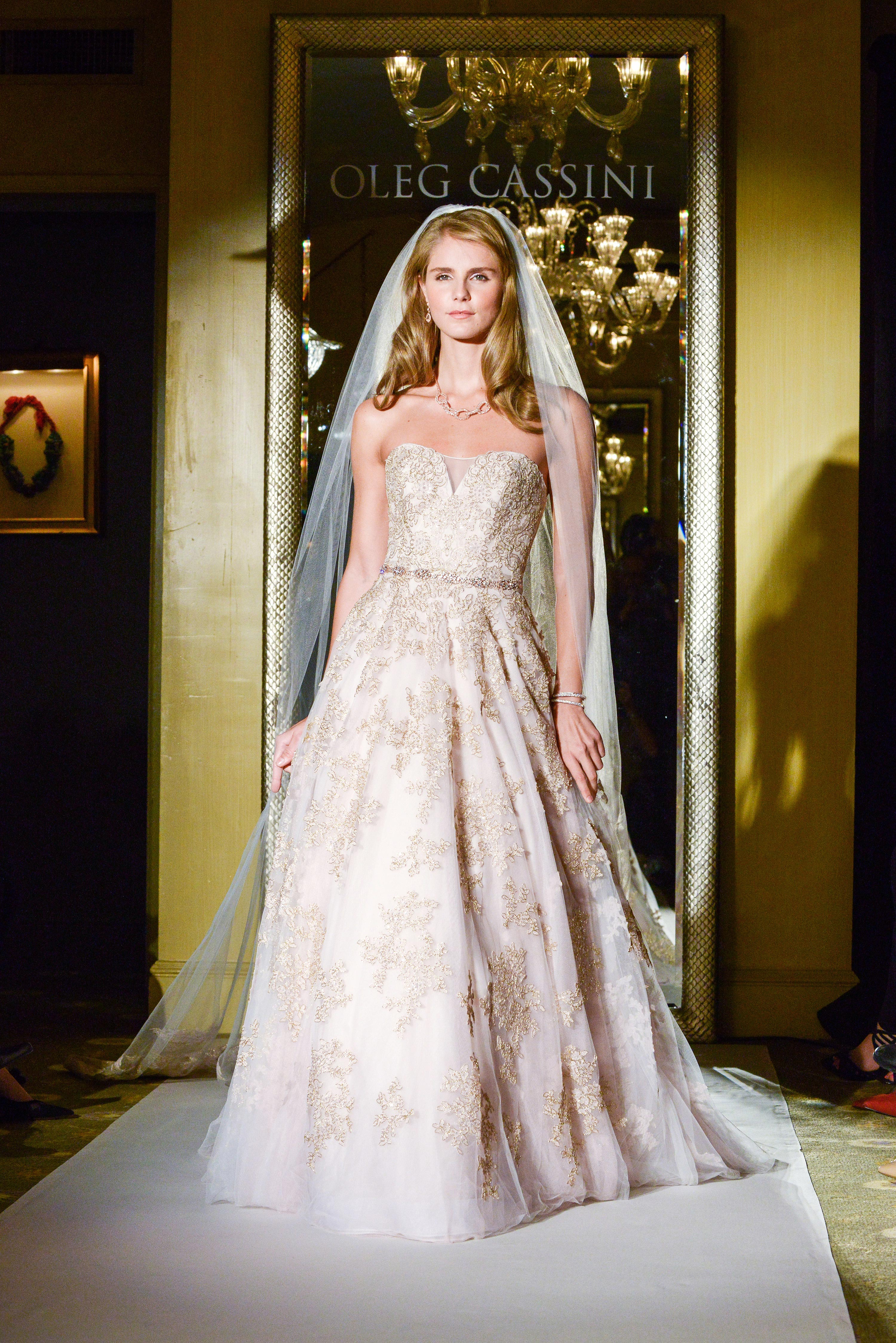 Oleg Cassini Fall 2017 Wedding Dress Collection Martha Stewart