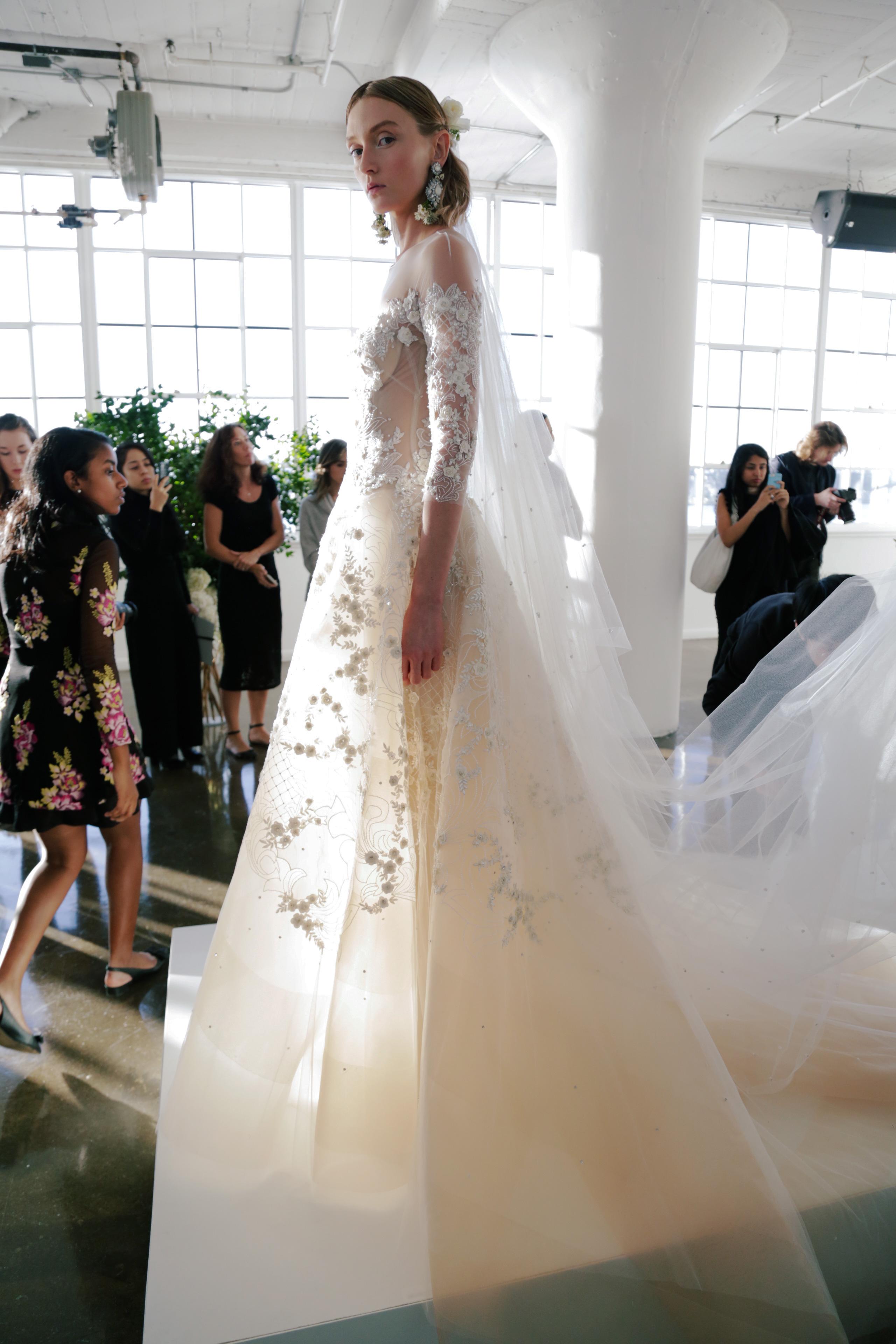 Marchesa wedding dress 7 Fall 2017