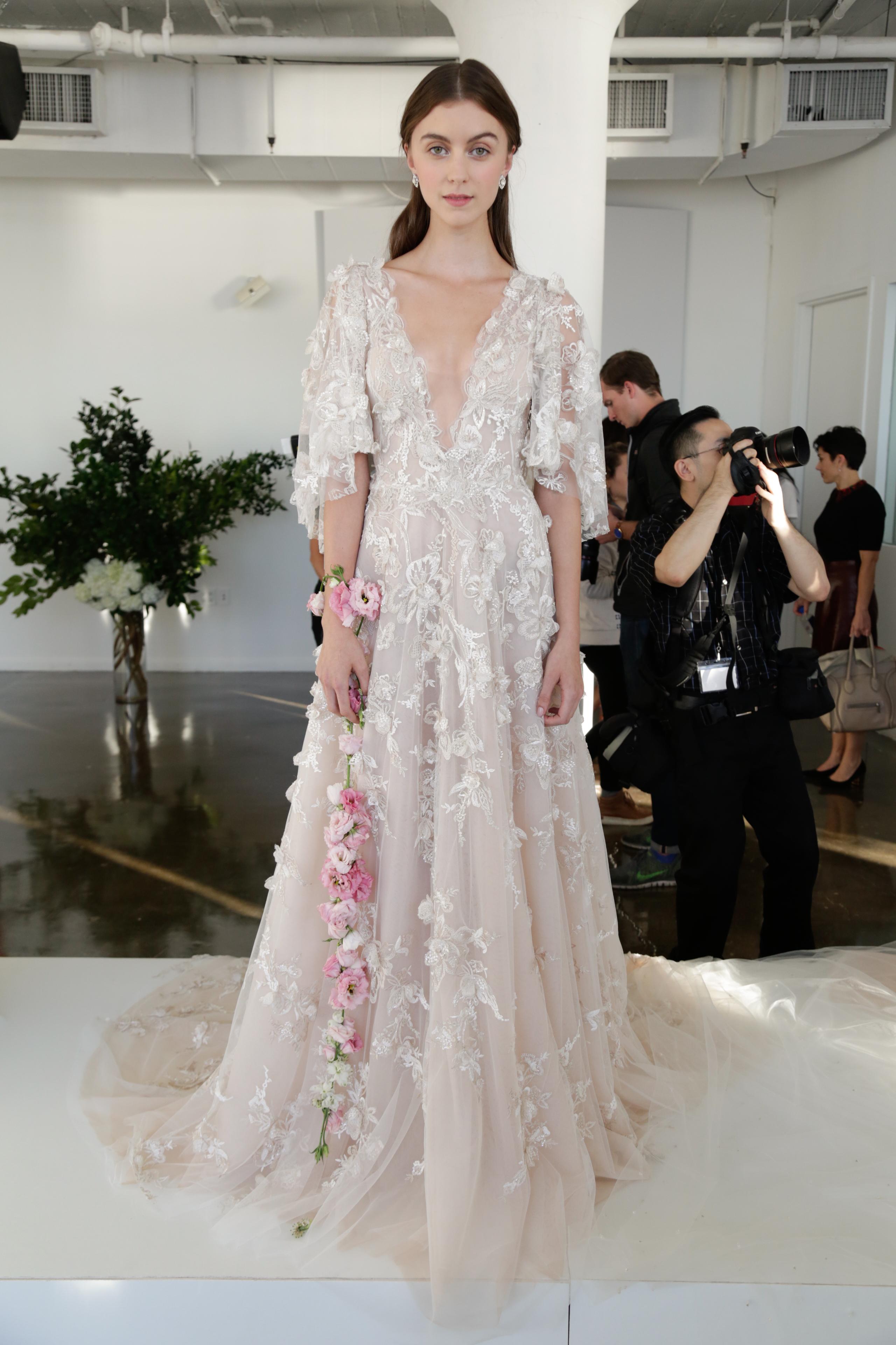 Marchesa wedding dress 10 Fall 2017