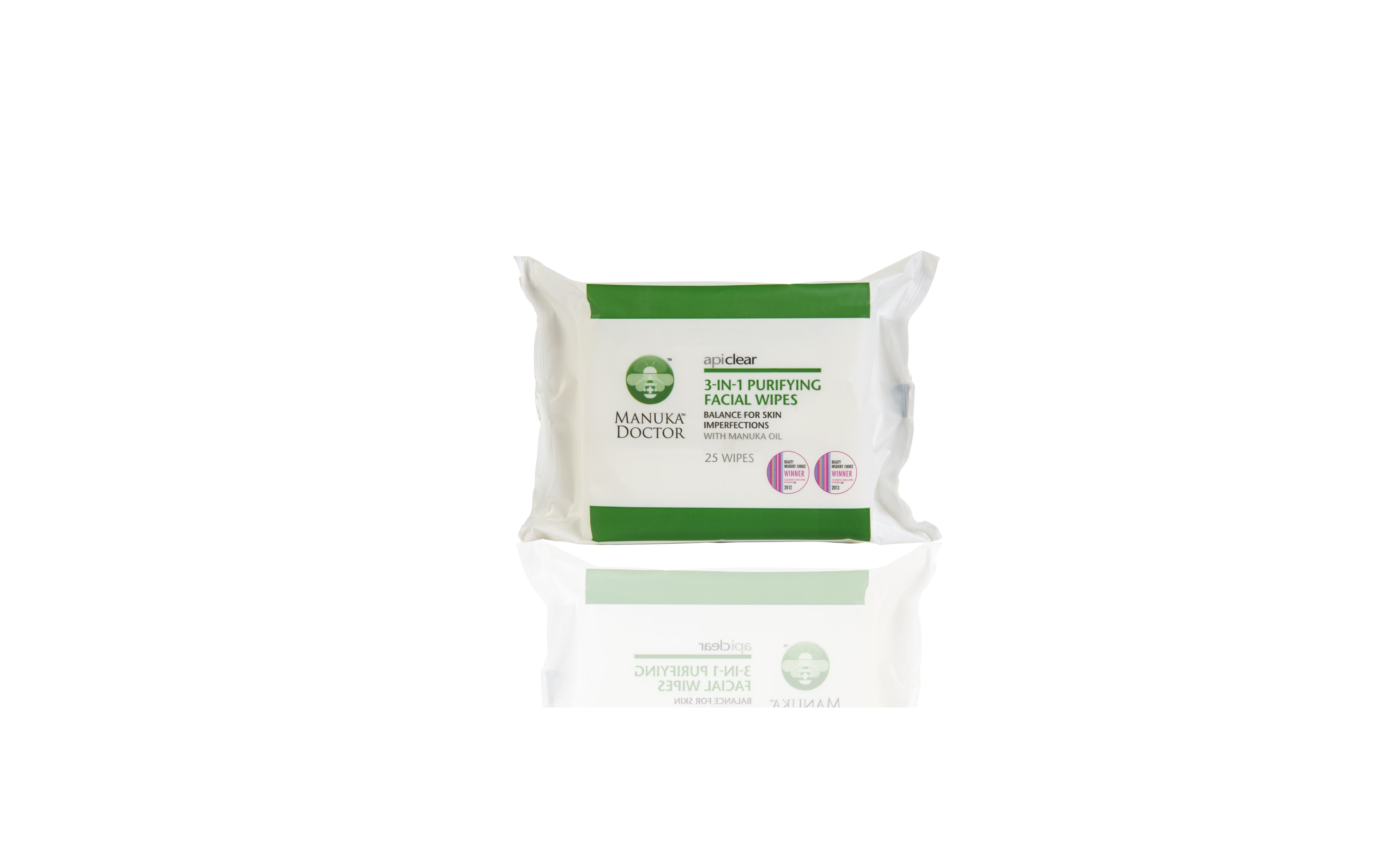 Manuka Doctor 3-in-1 Purifying Facial Wipes