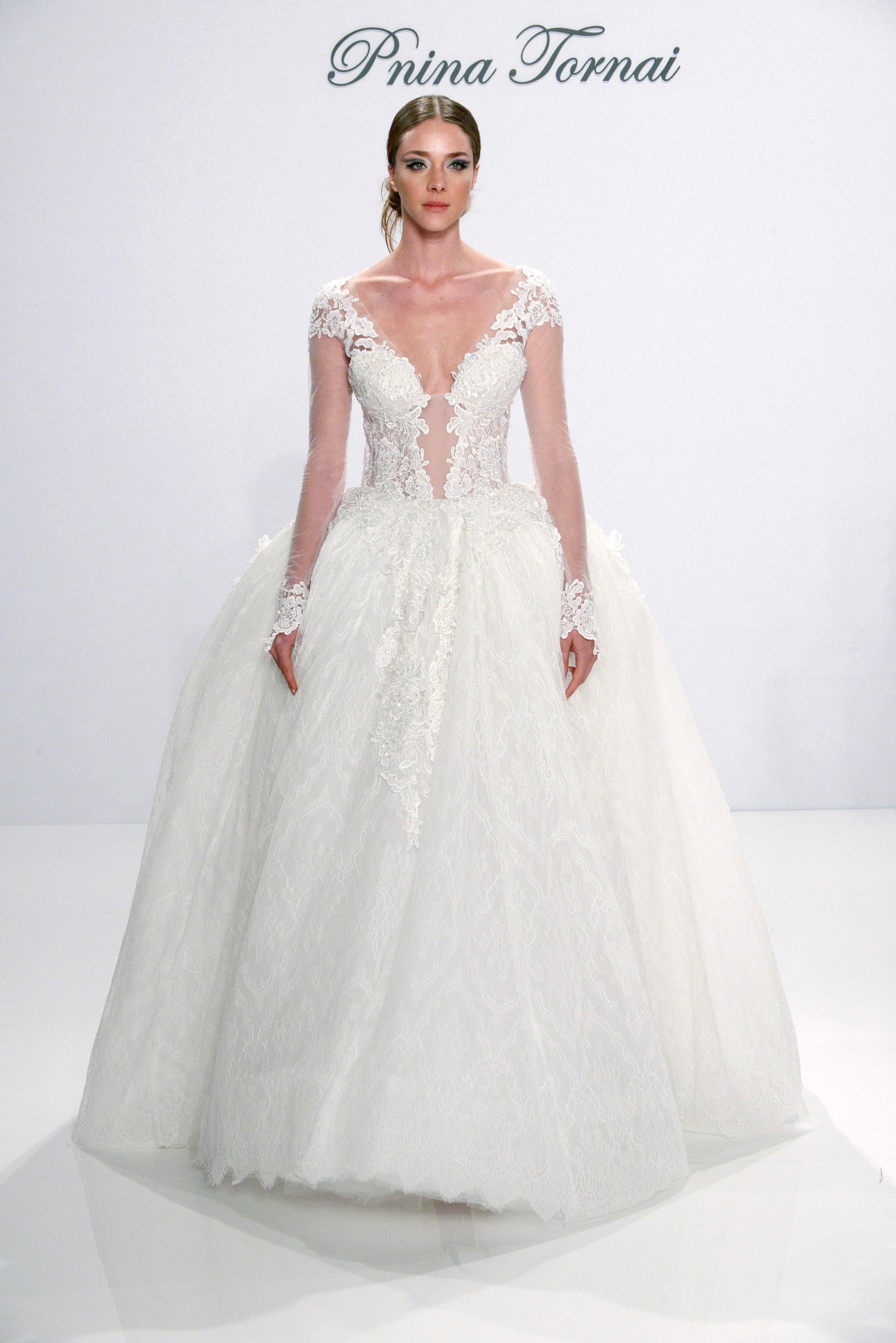 Pnina Tornai Fall 2017 Wedding Dress Collection Martha Stewart