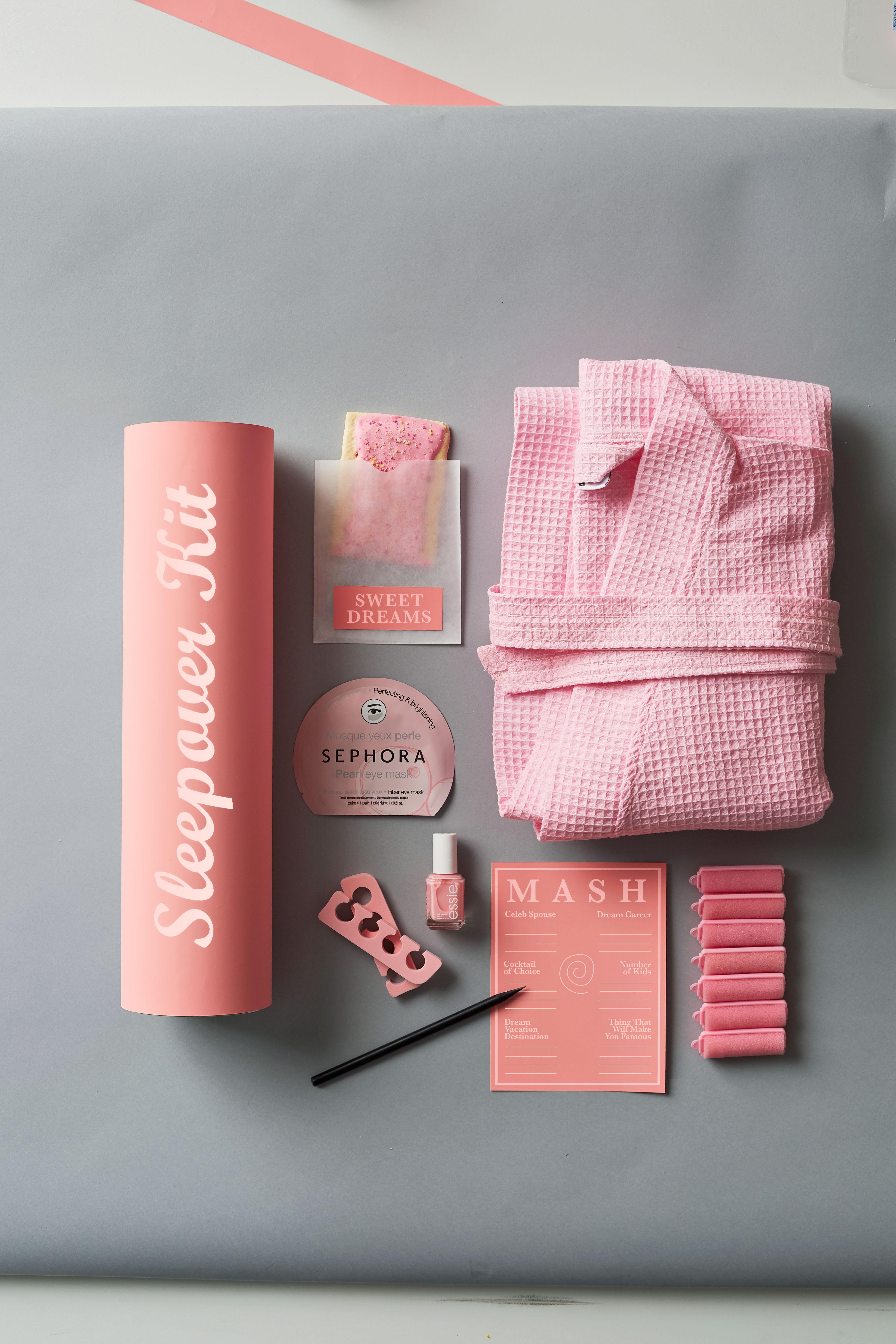 bridesmaids sleepover kit