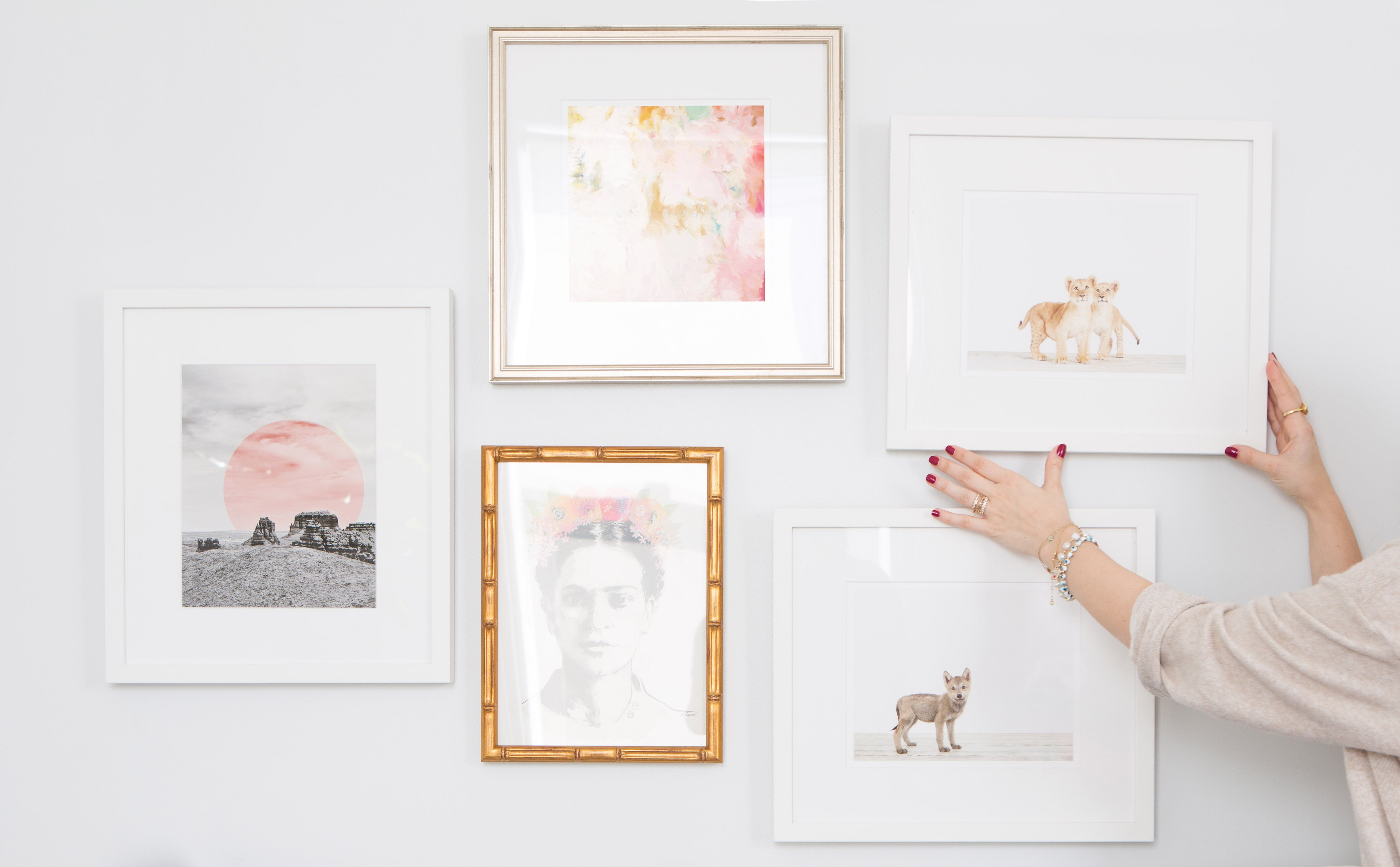 How To Put Together A Gallery Wall It S Harder Than