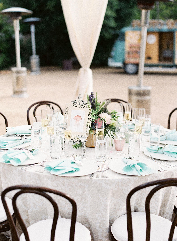 jackie dave wedding round table