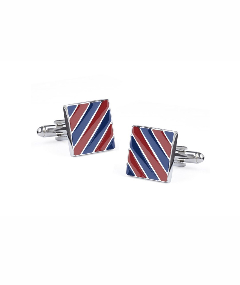 Striped Cuff Links