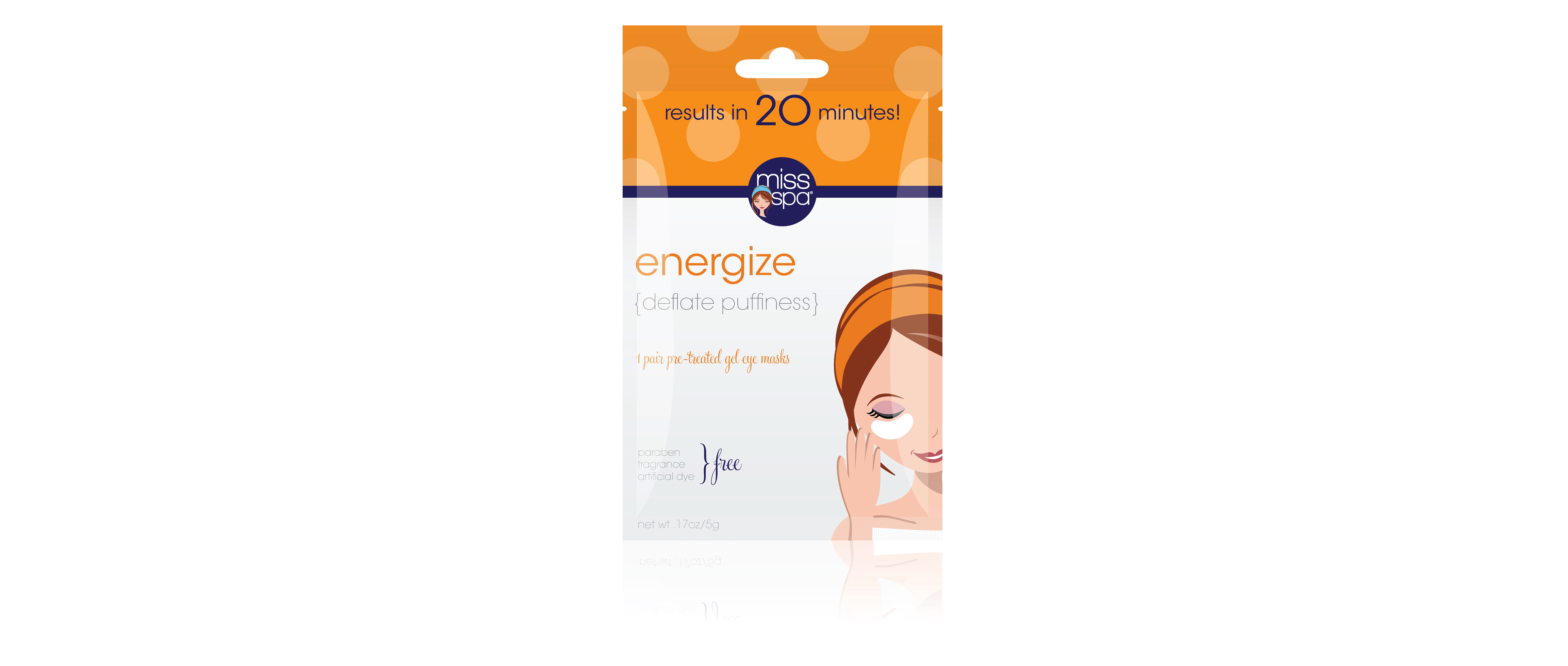 miss spa energize eye mask