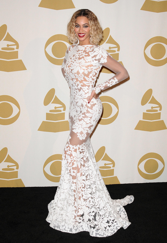 Beyonce Grammy's Dress