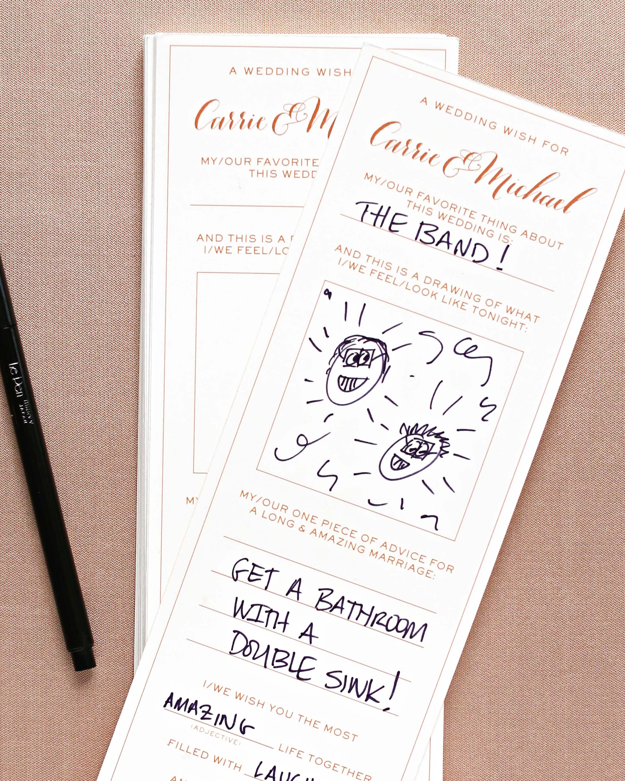 46 Guest Books From Real Weddings Martha
