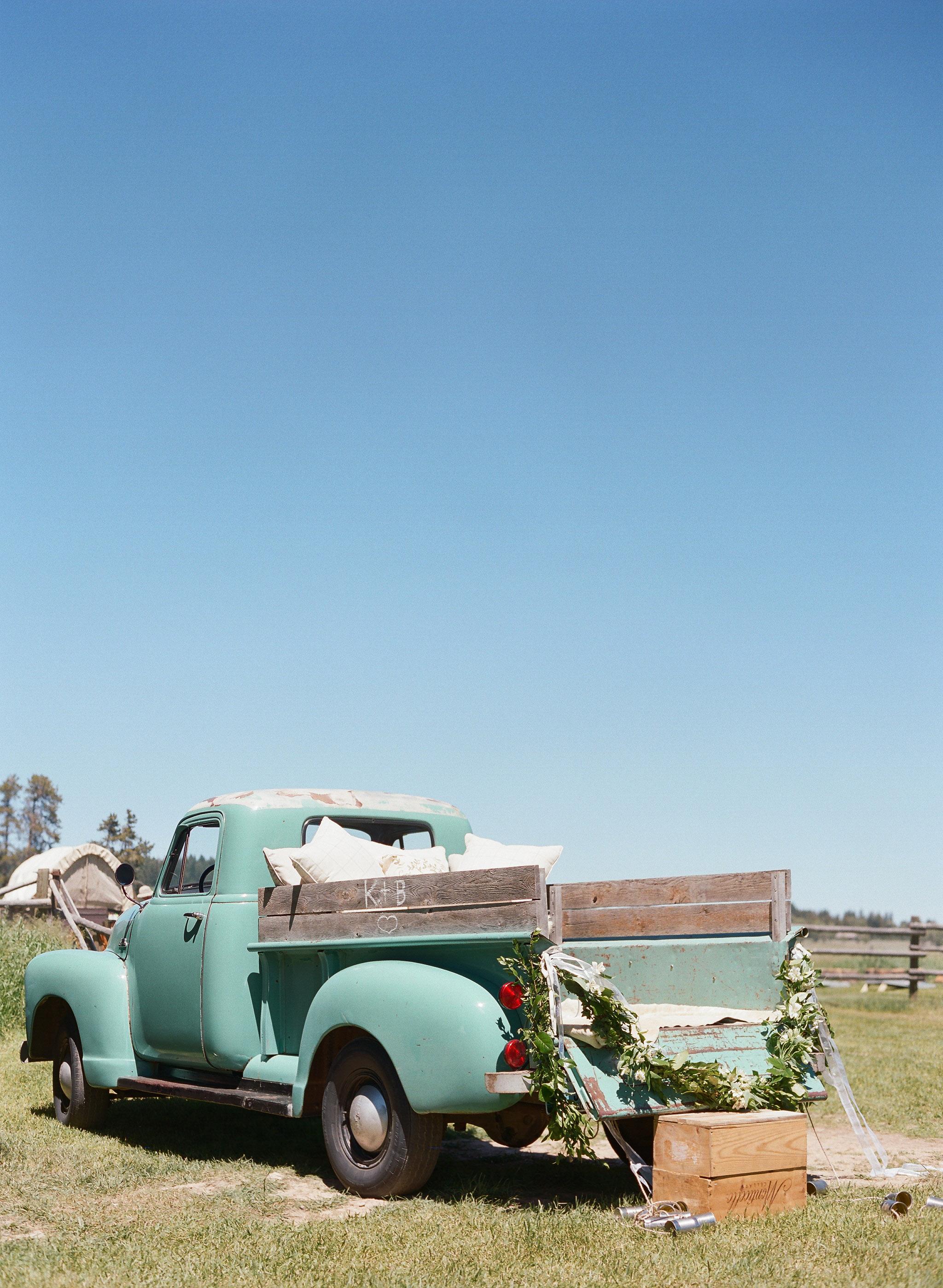 kalen boyd wedding truck