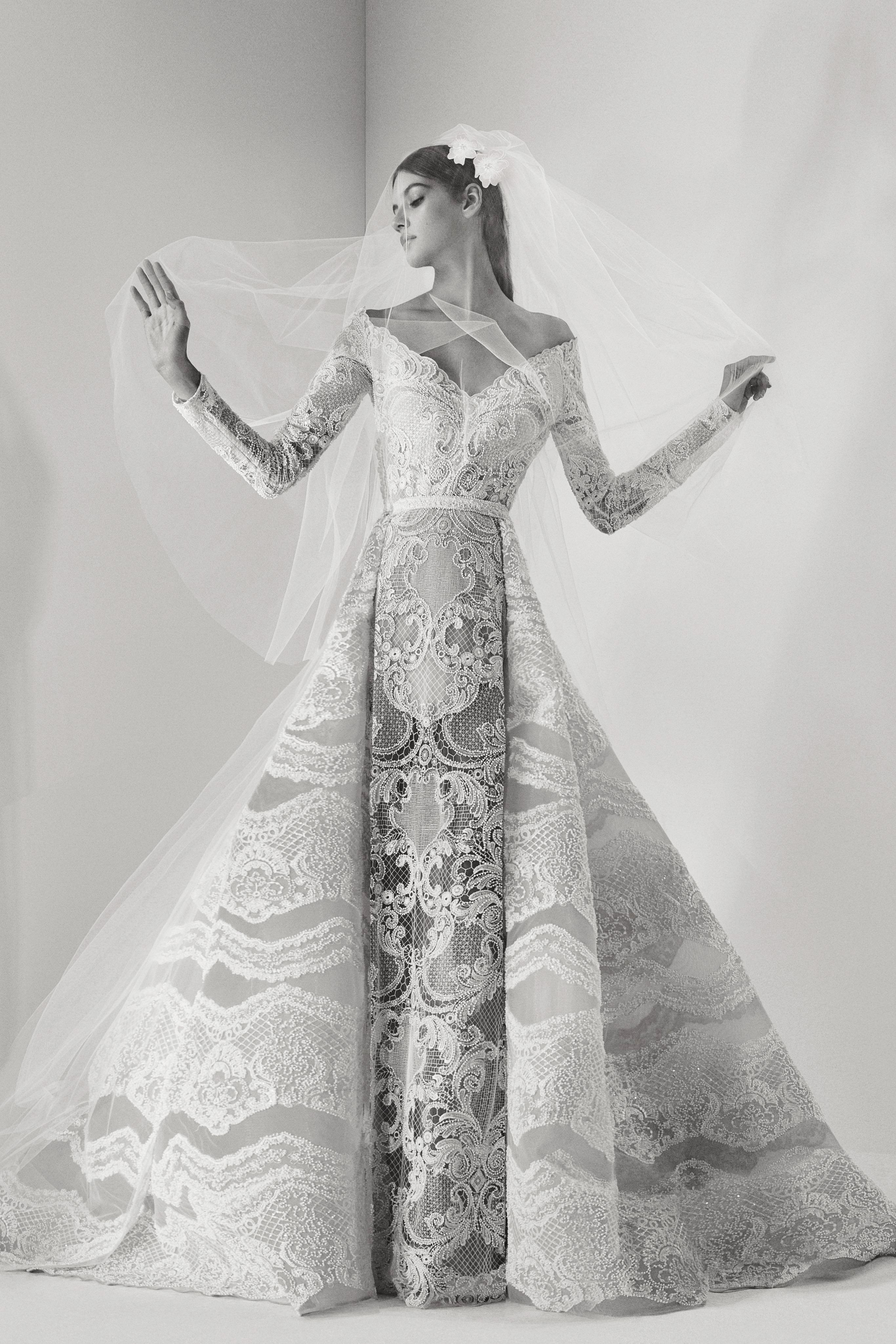 Elie Saab Fall 2017 Wedding Dress Collection