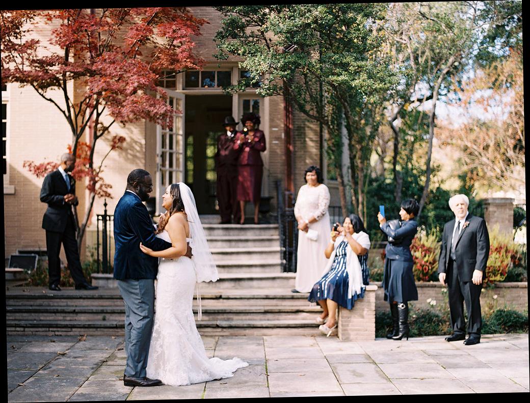 yolanda cedric wedding dance