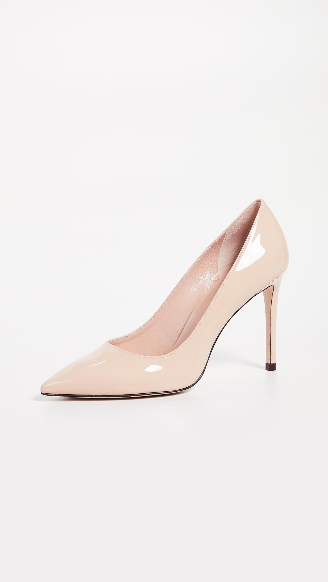 nude shoe pink high heel leigh pumps