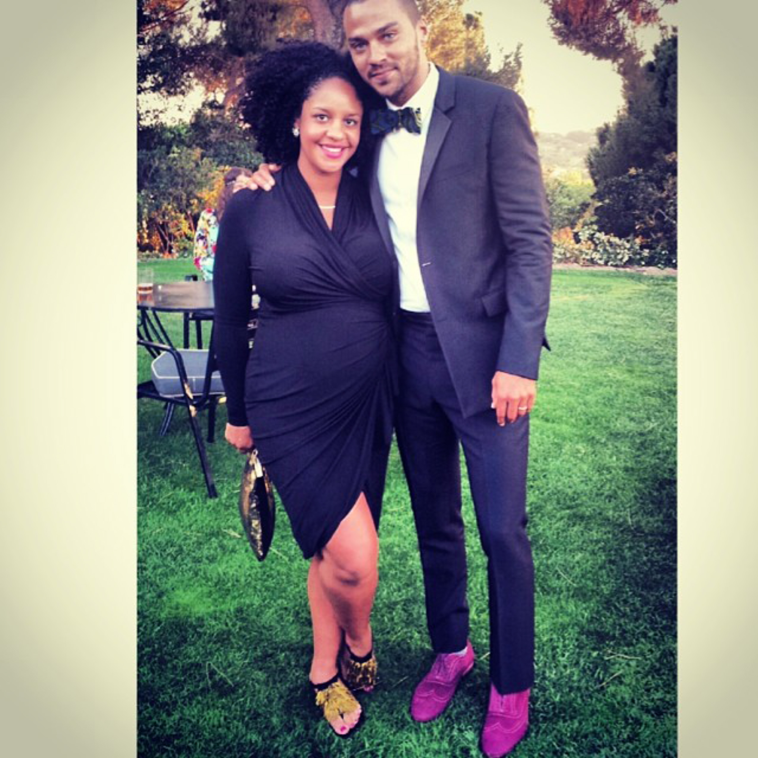 Jesse Williams and Aryn Drake
