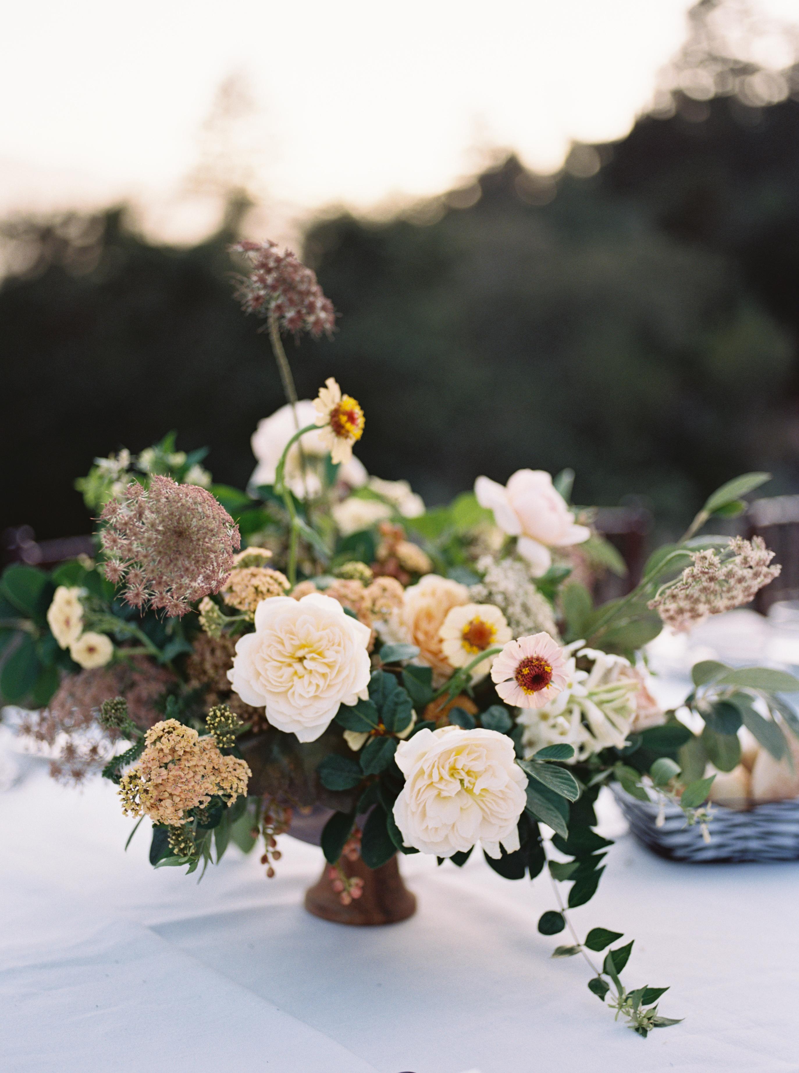 Thanksgiving Centerpiece Blooms