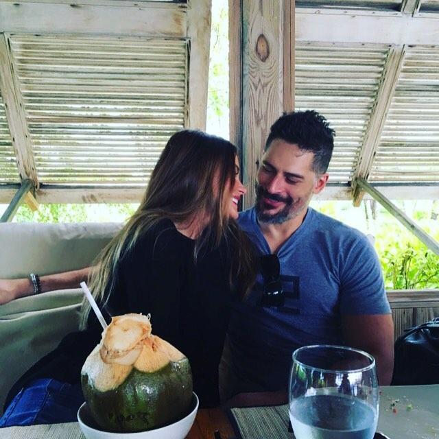Sofia Vergara and Joe Manganiello on Vacation in Turks and Caicos