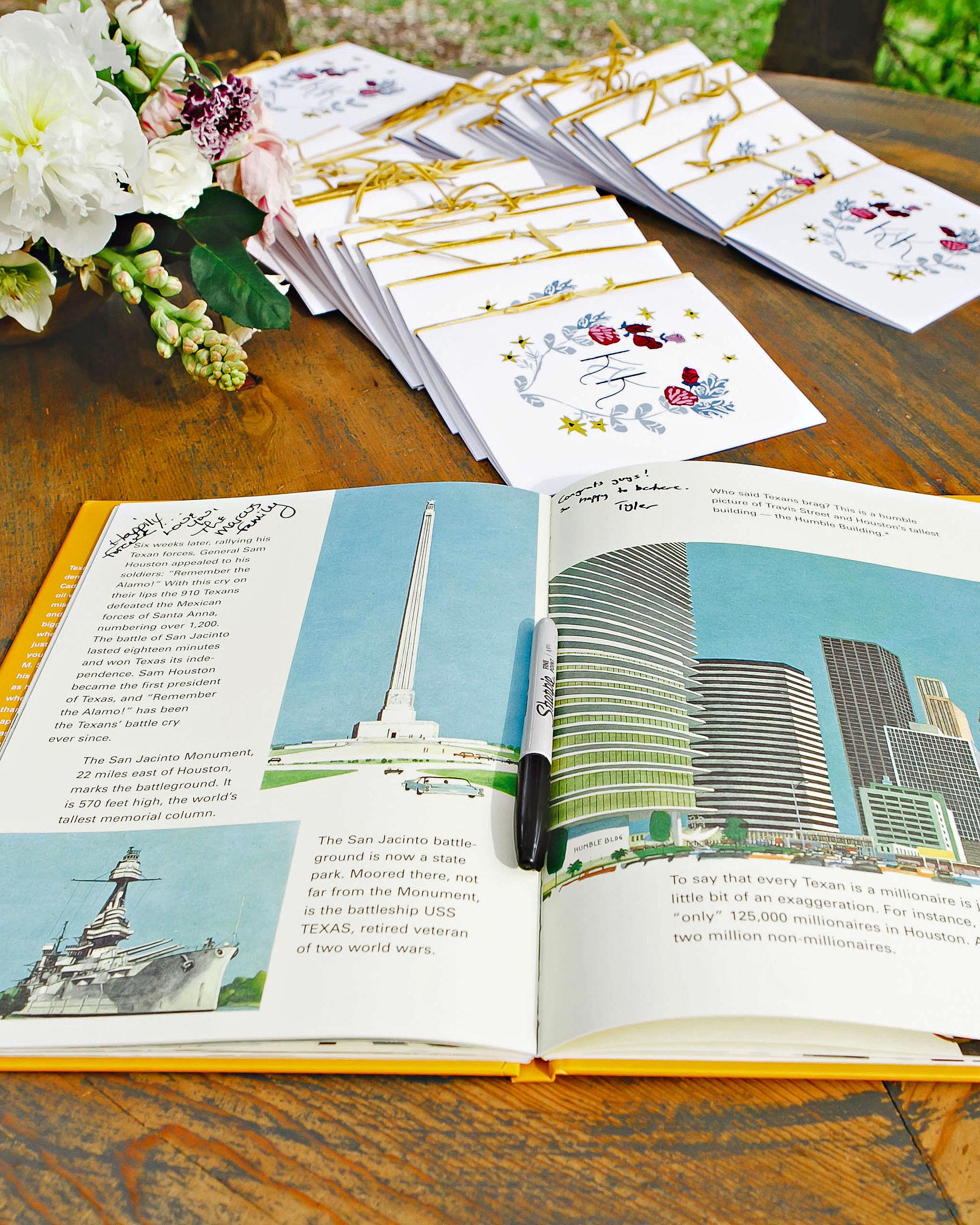 wedding guest book