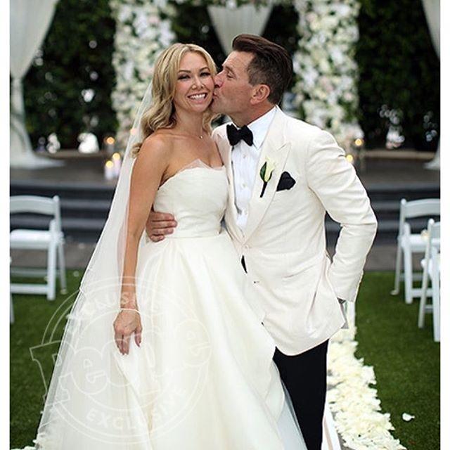 kym johnson robert herjavec wedding photo