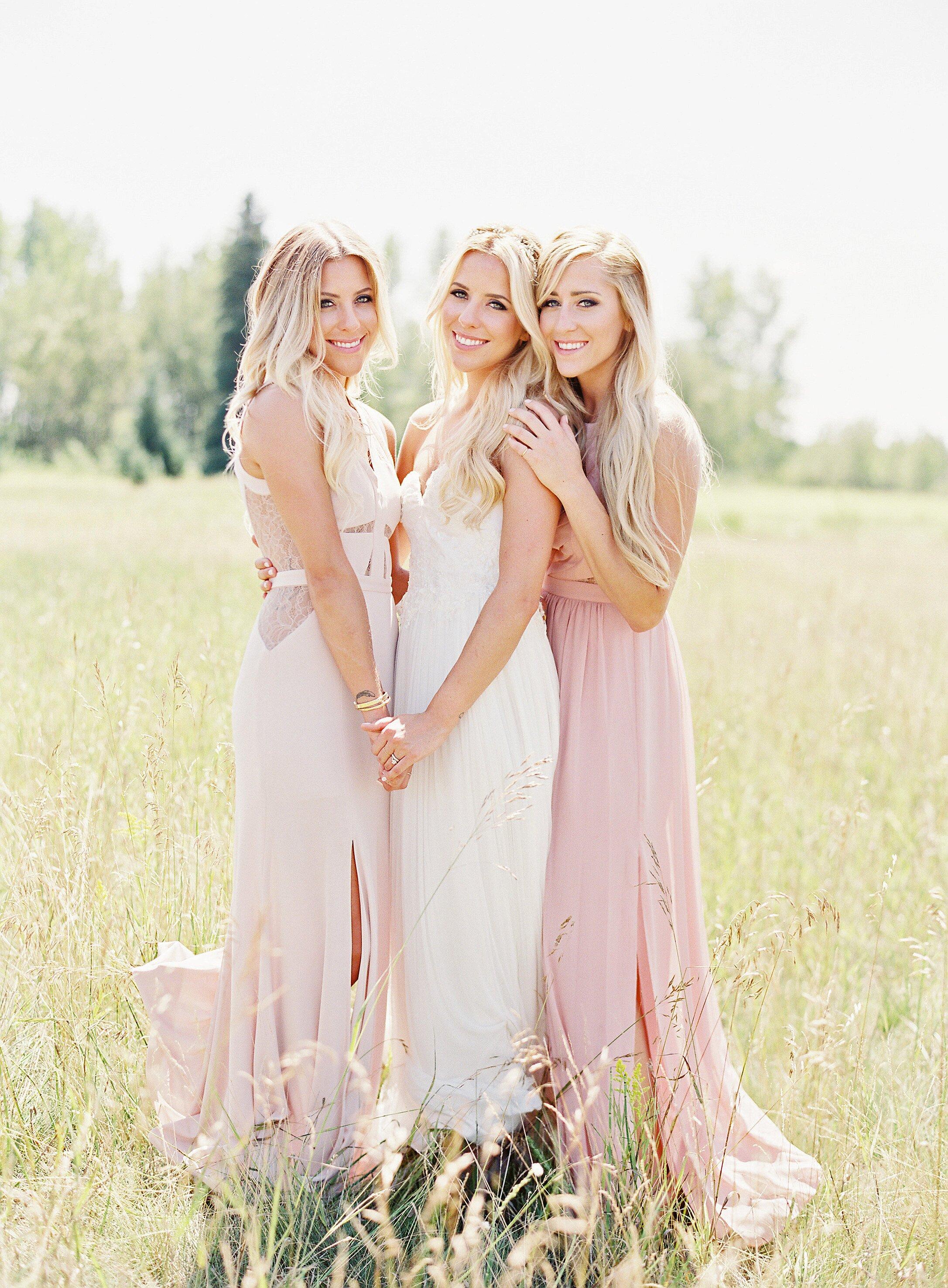 The Coolest Silk Bridesmaids Dresses