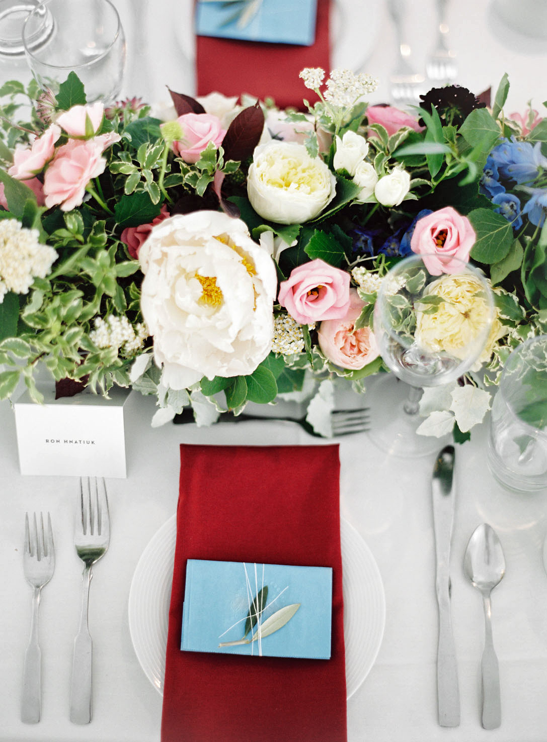 table and place settings