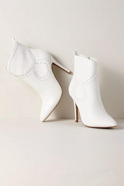 white bridal booties charles by charles david plot