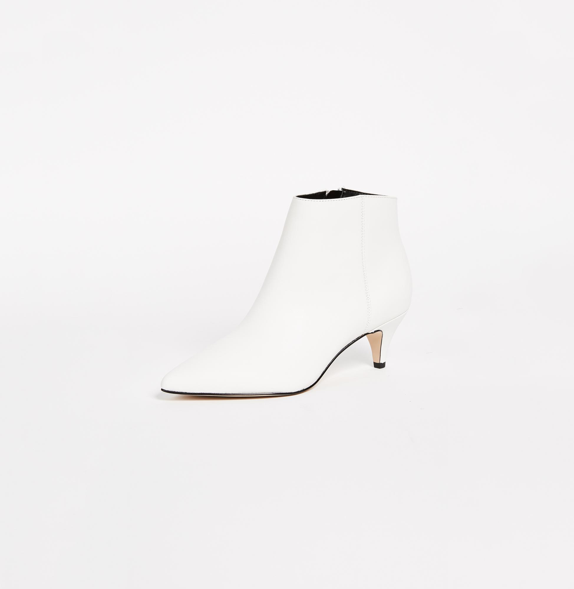 white bridal booties sam edelman kinzey heel