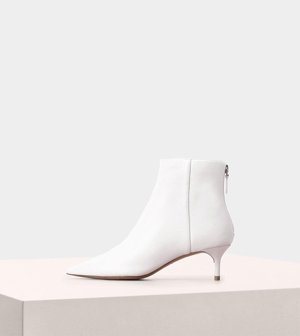 white bridal booties alexandre birman kittie heel