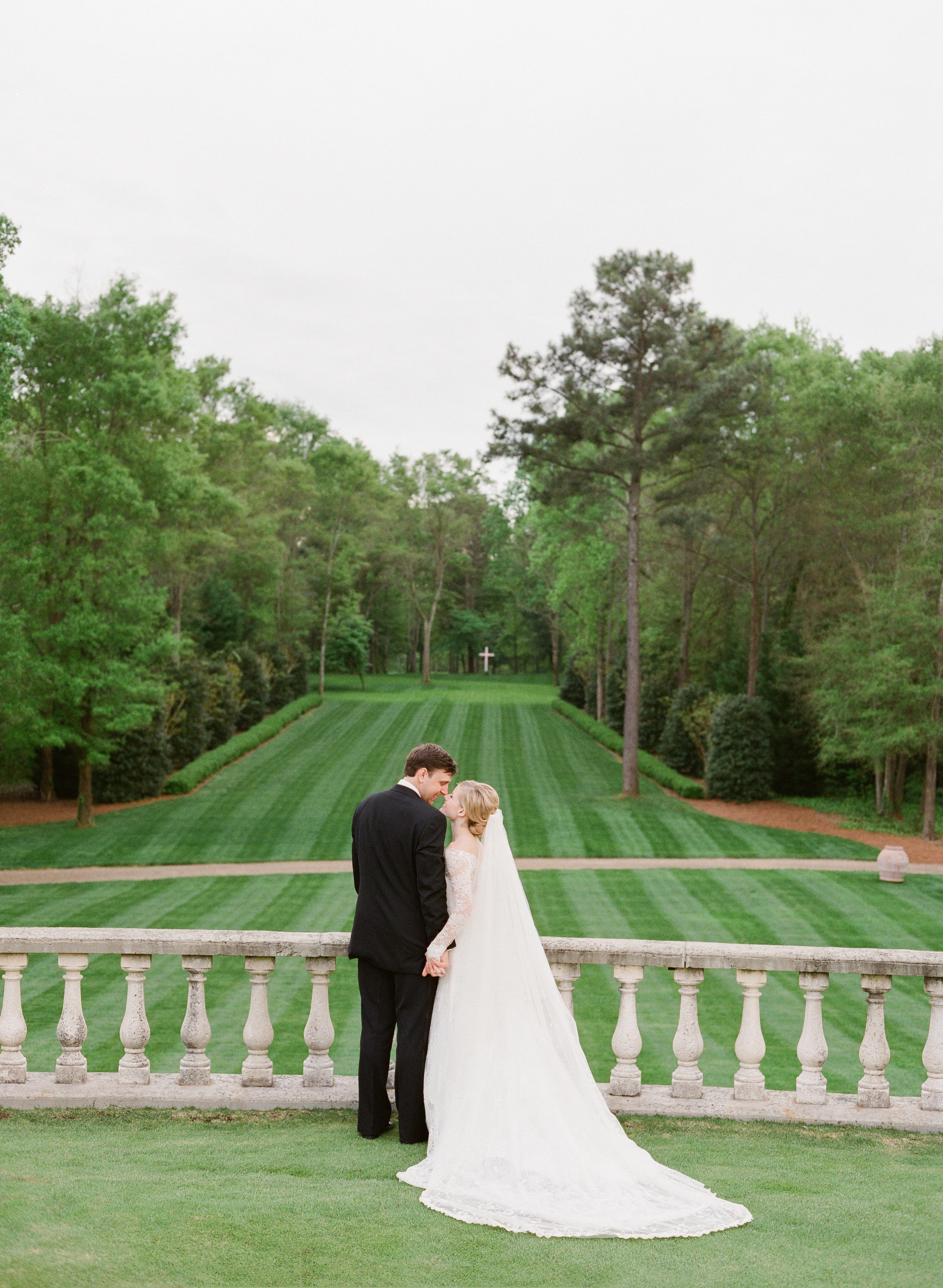 Brooke and David's lawn wedding