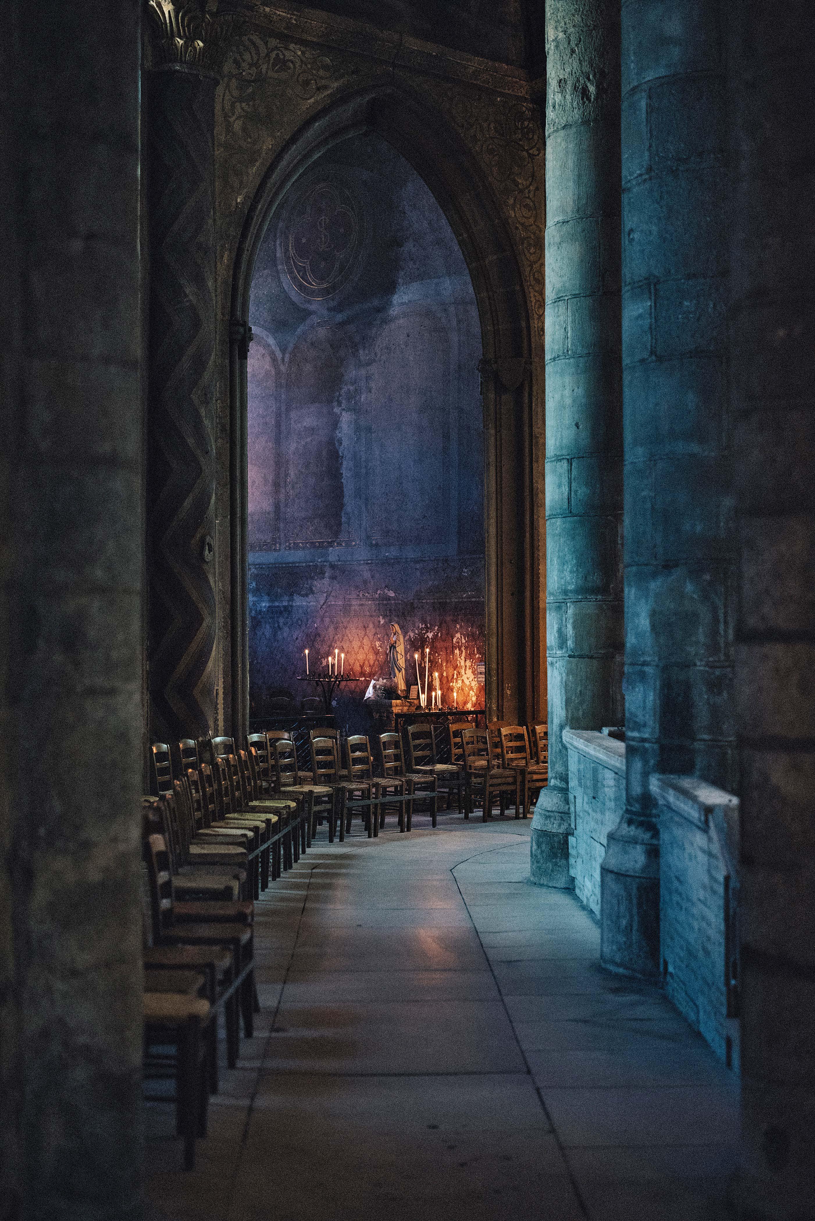chapel candles