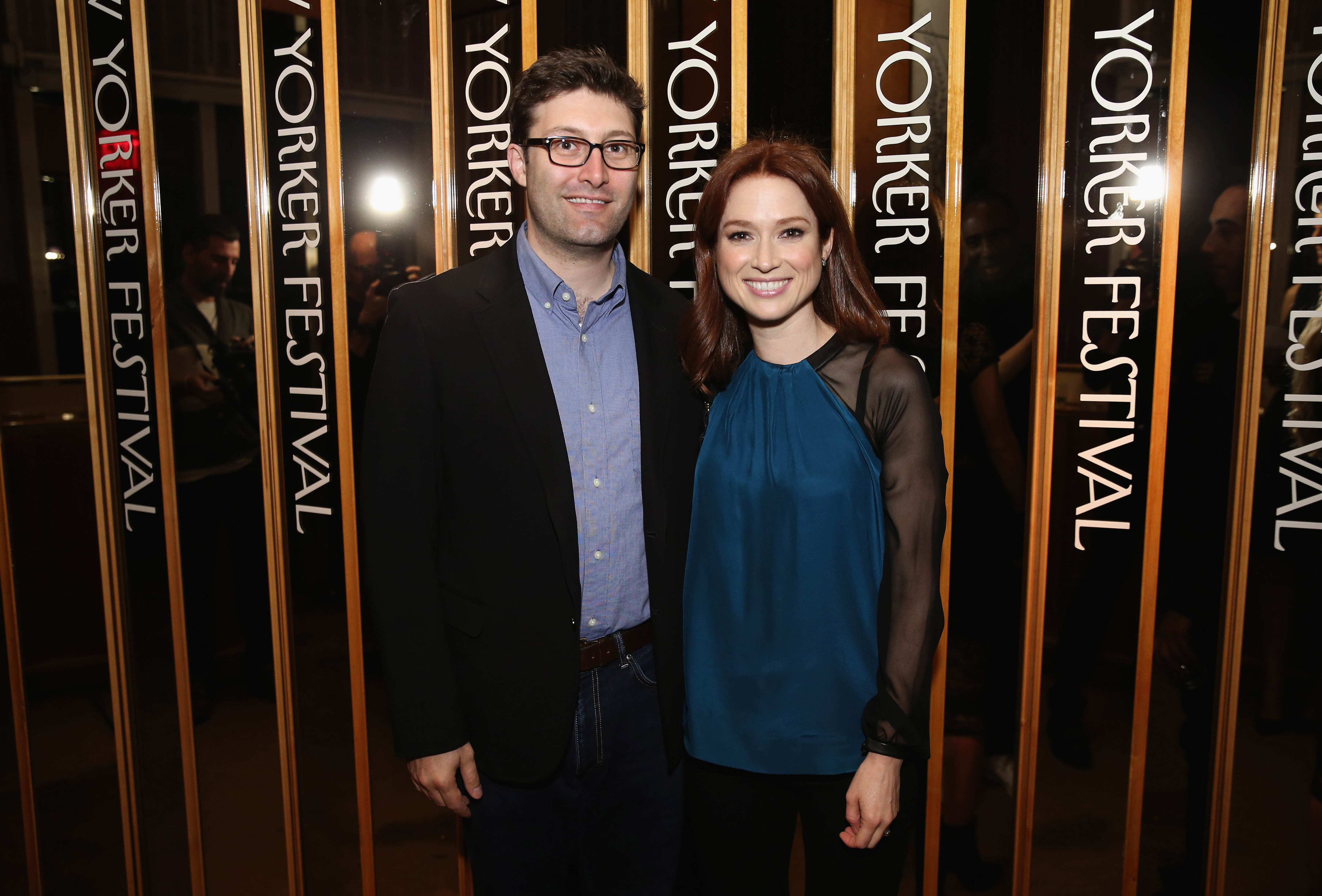 Ellie Kemper and Michael Koman