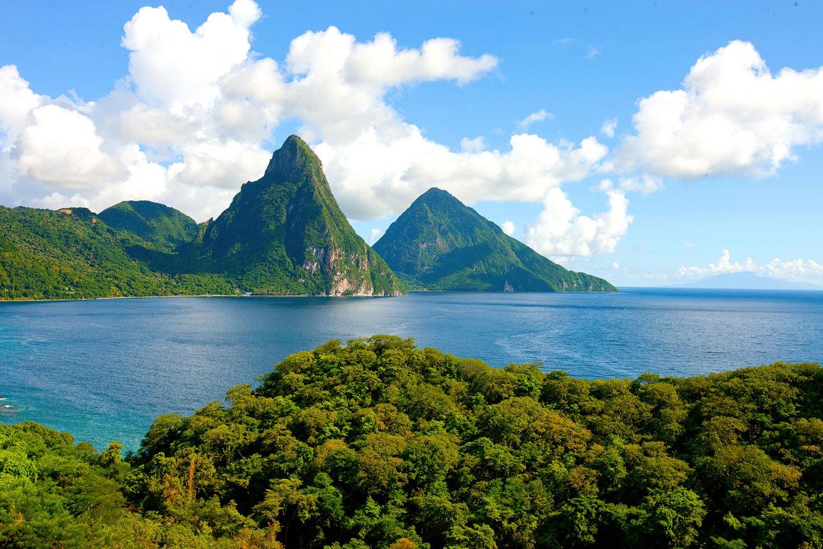 St. Lucia honeymoon