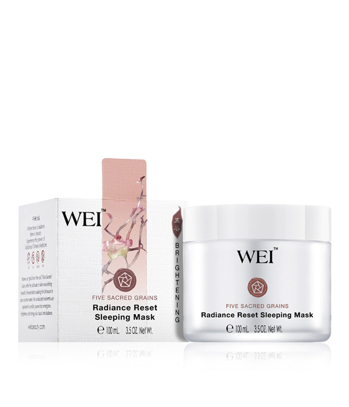 wei beauty radiance reset sleeping mask