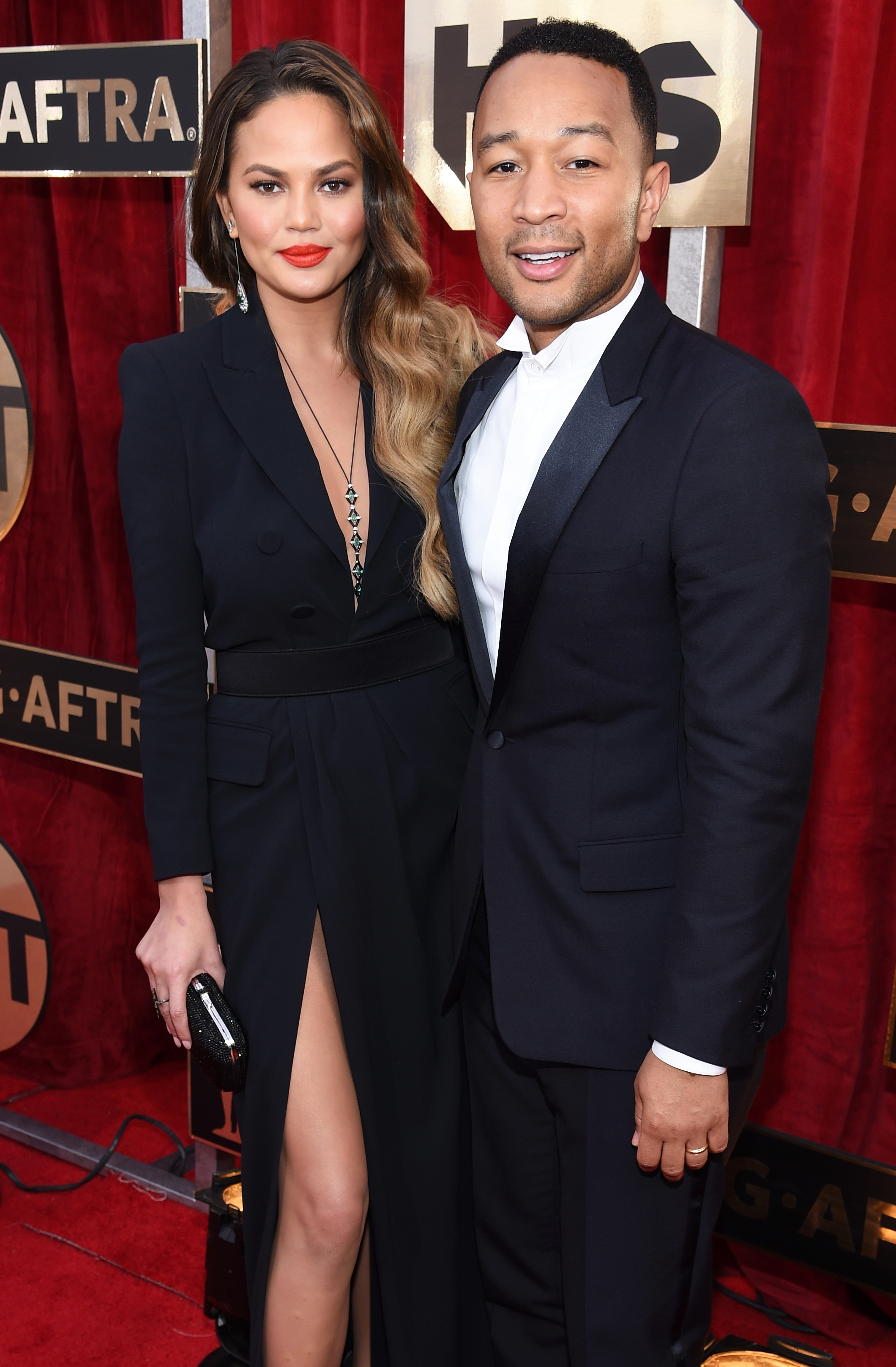 Chrissy Teigen John Legend SAG Awards 2017