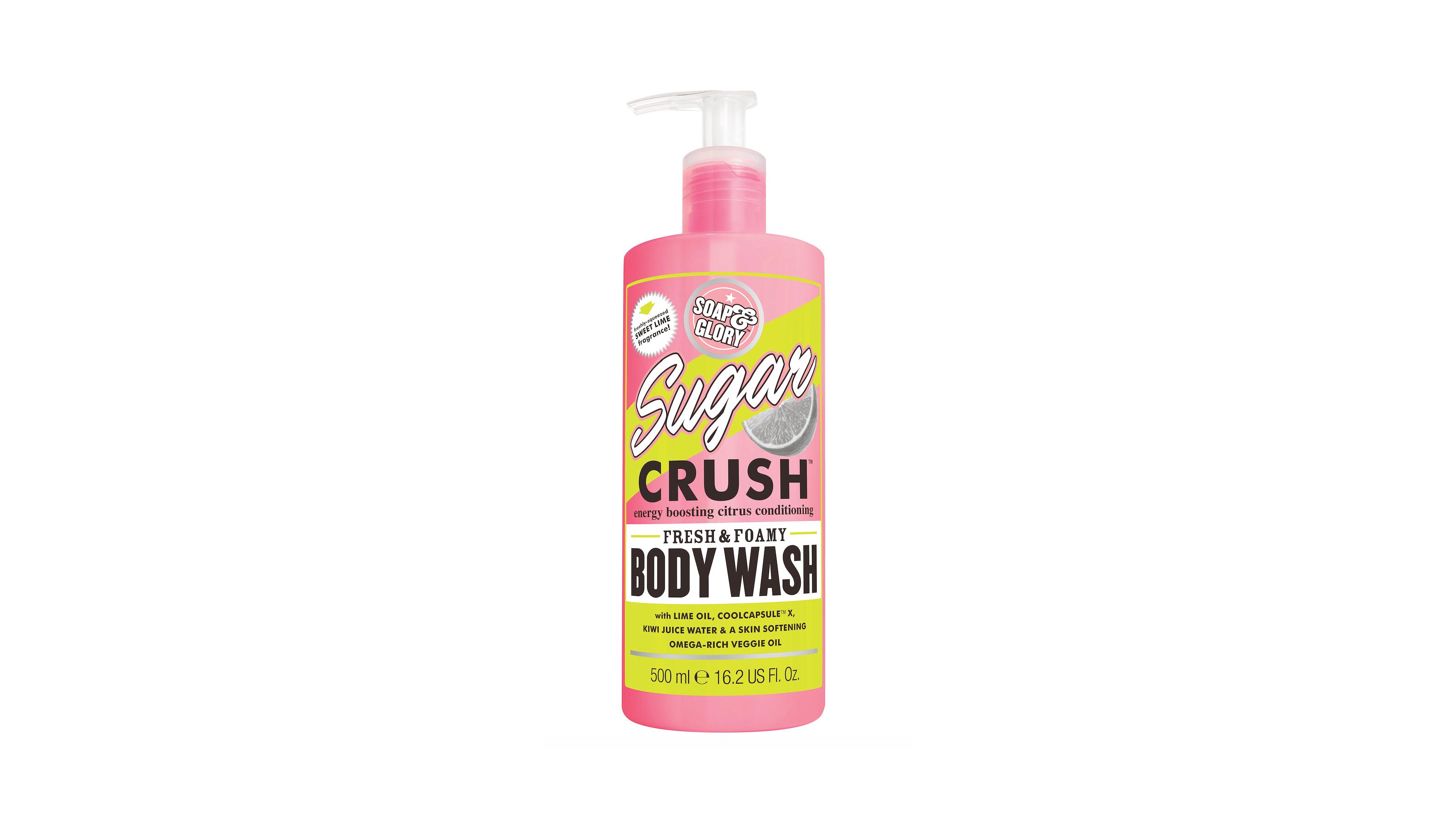 soap and glory sugar crush bodywash