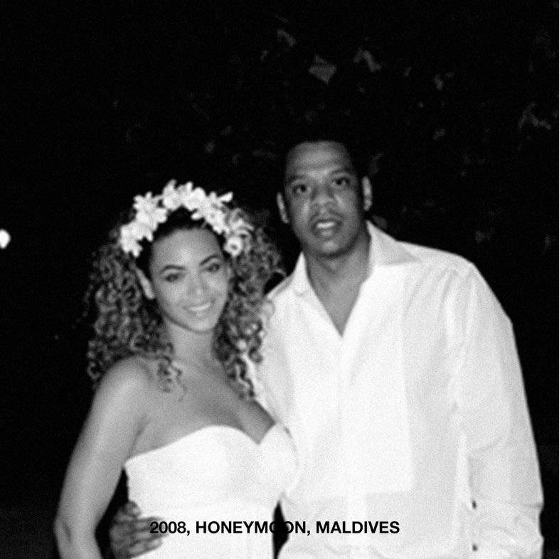 Beyoncé and Jay Z honeymoon