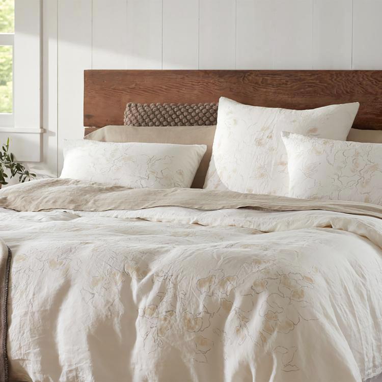 botanical bedding sheets pillows