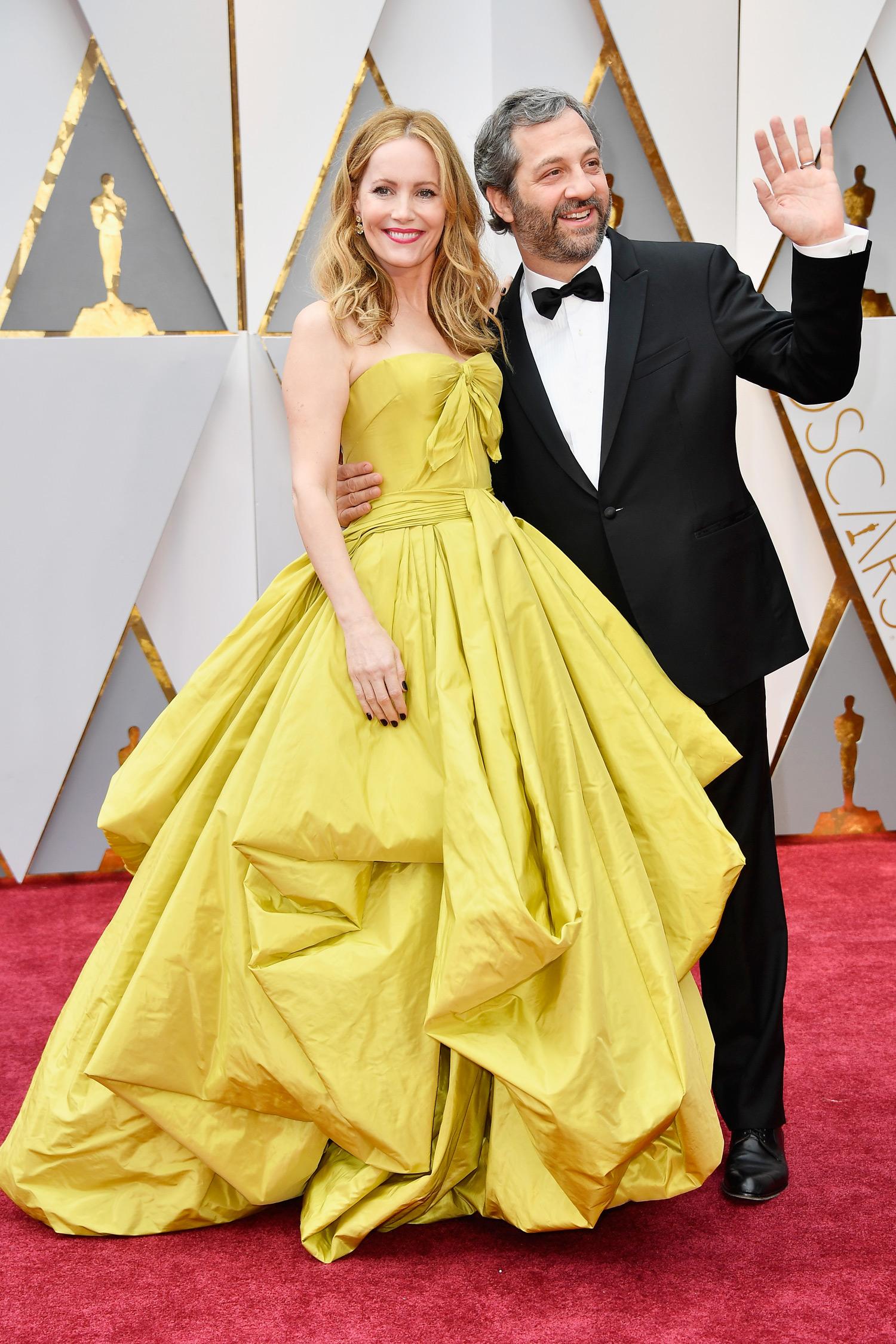 Chrissy Teigen and John Legend at 2017 Academy Awards