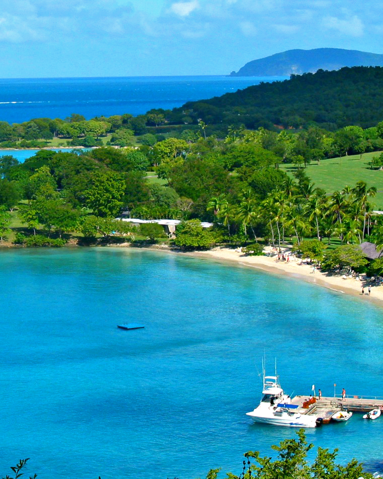 romantic caribbean destination virgin islands caneel bay