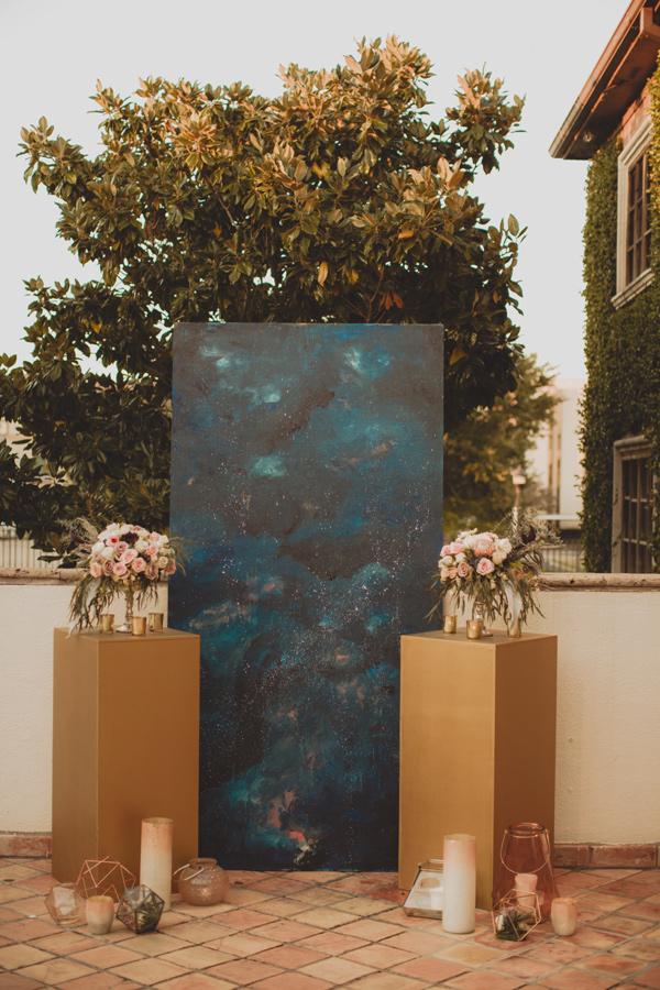 Celestial Wedding Photo Backdrop