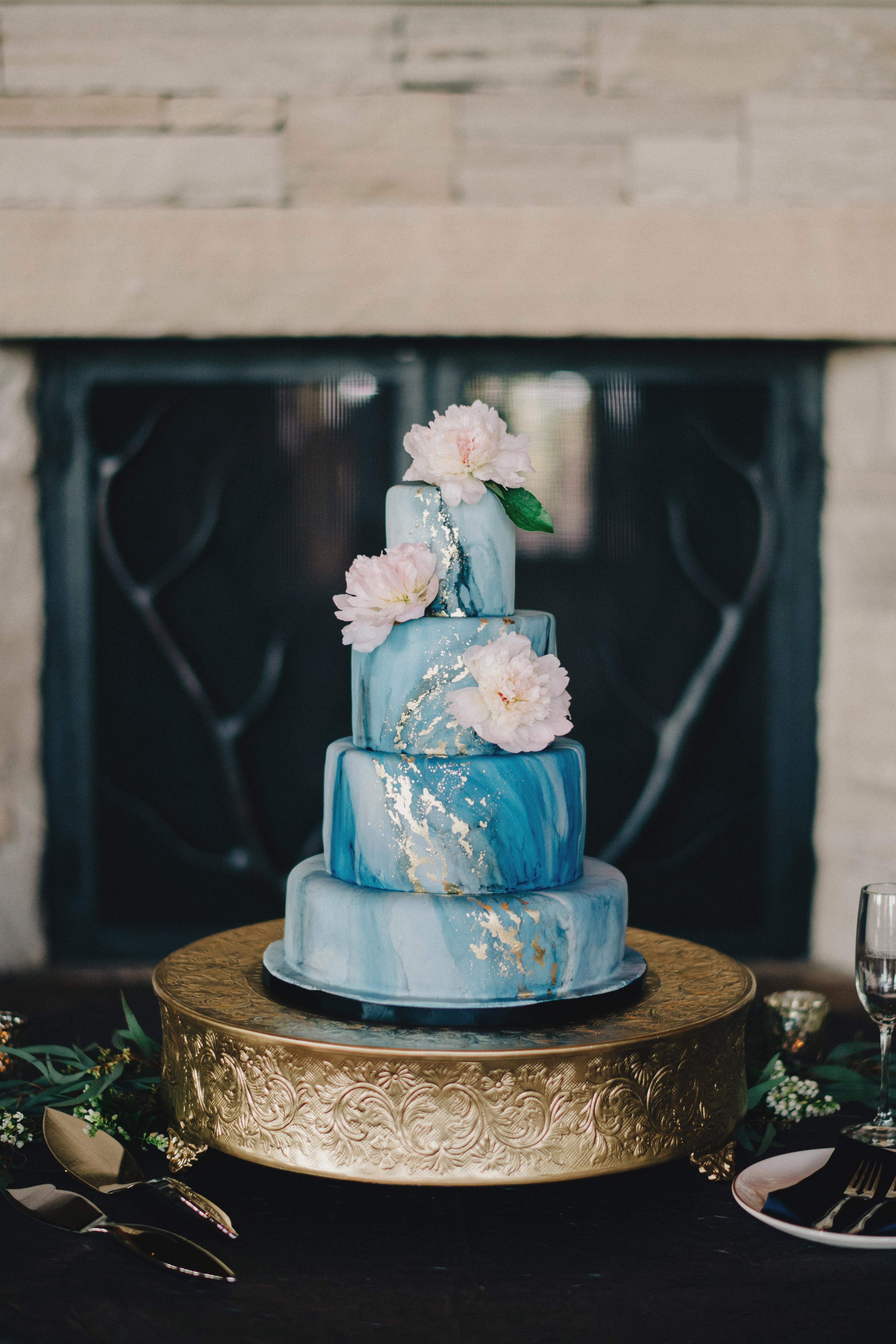 Celestial Wedding Cake