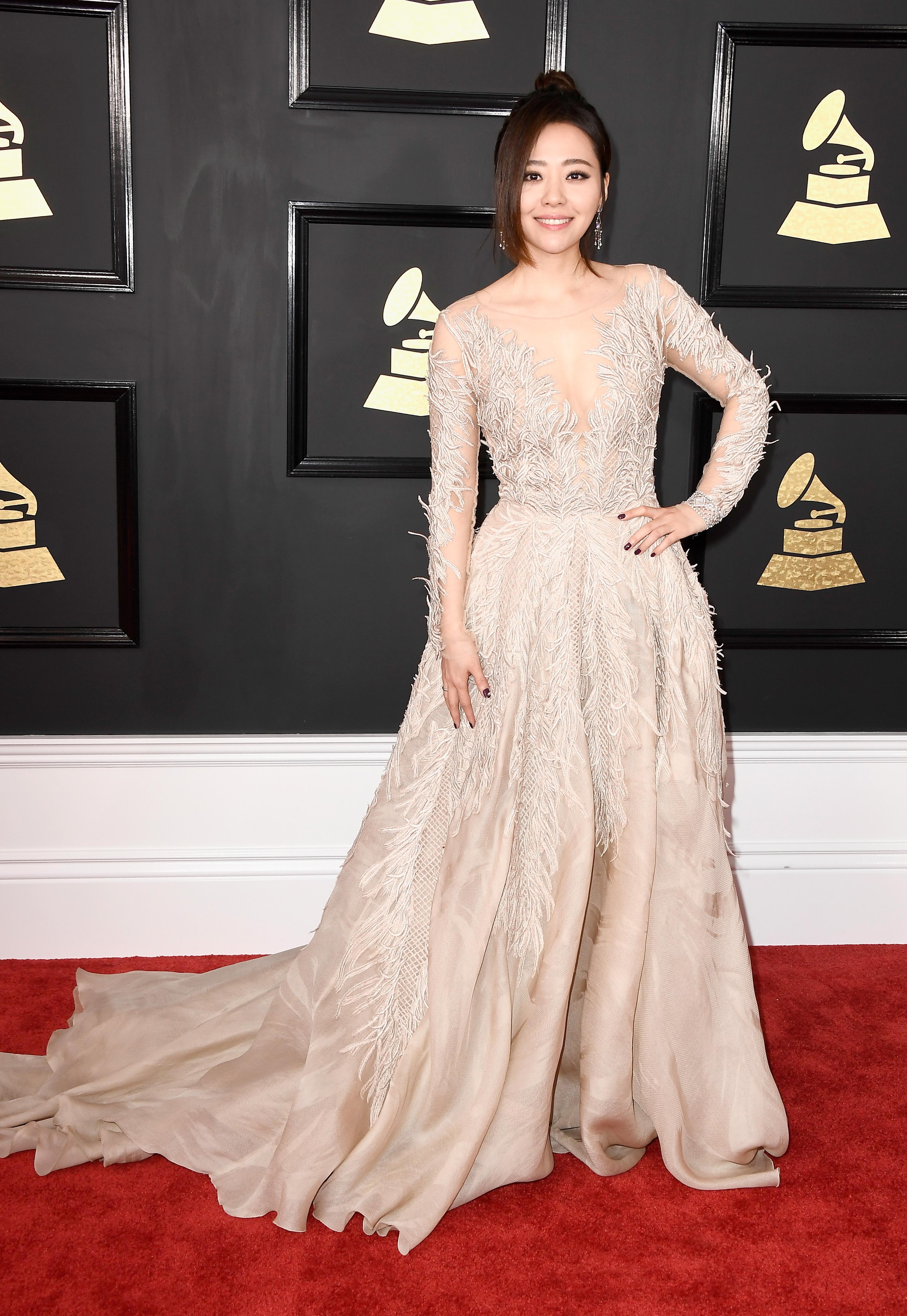 Jane Zheng Grammy Awards 2017