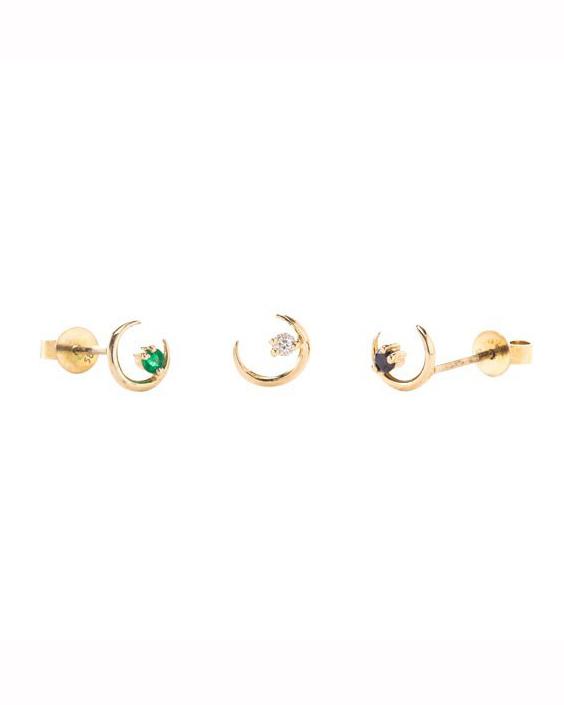 moon ray earring