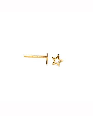 whimsy star earring