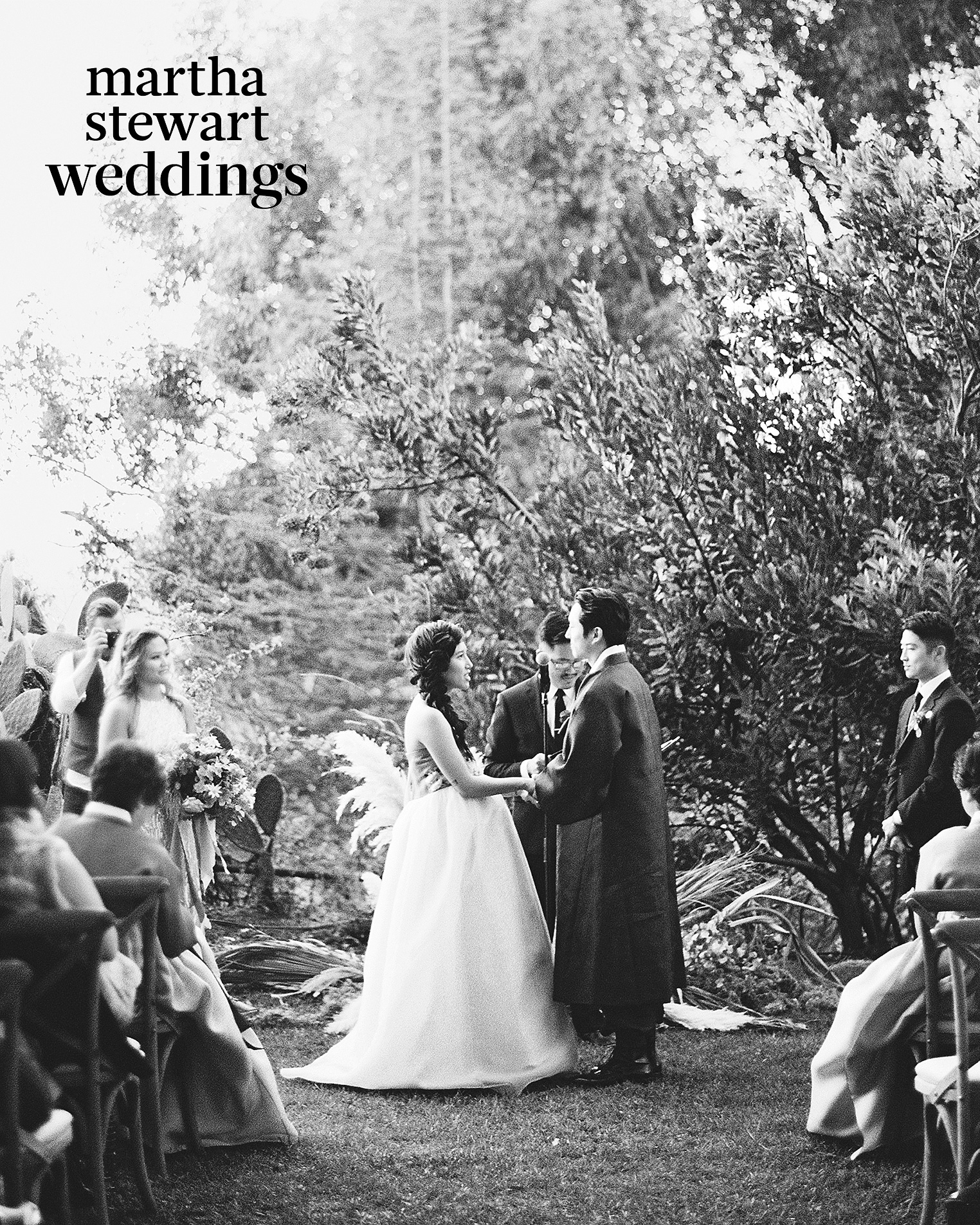 steven yeun walking dead wedding ceremony