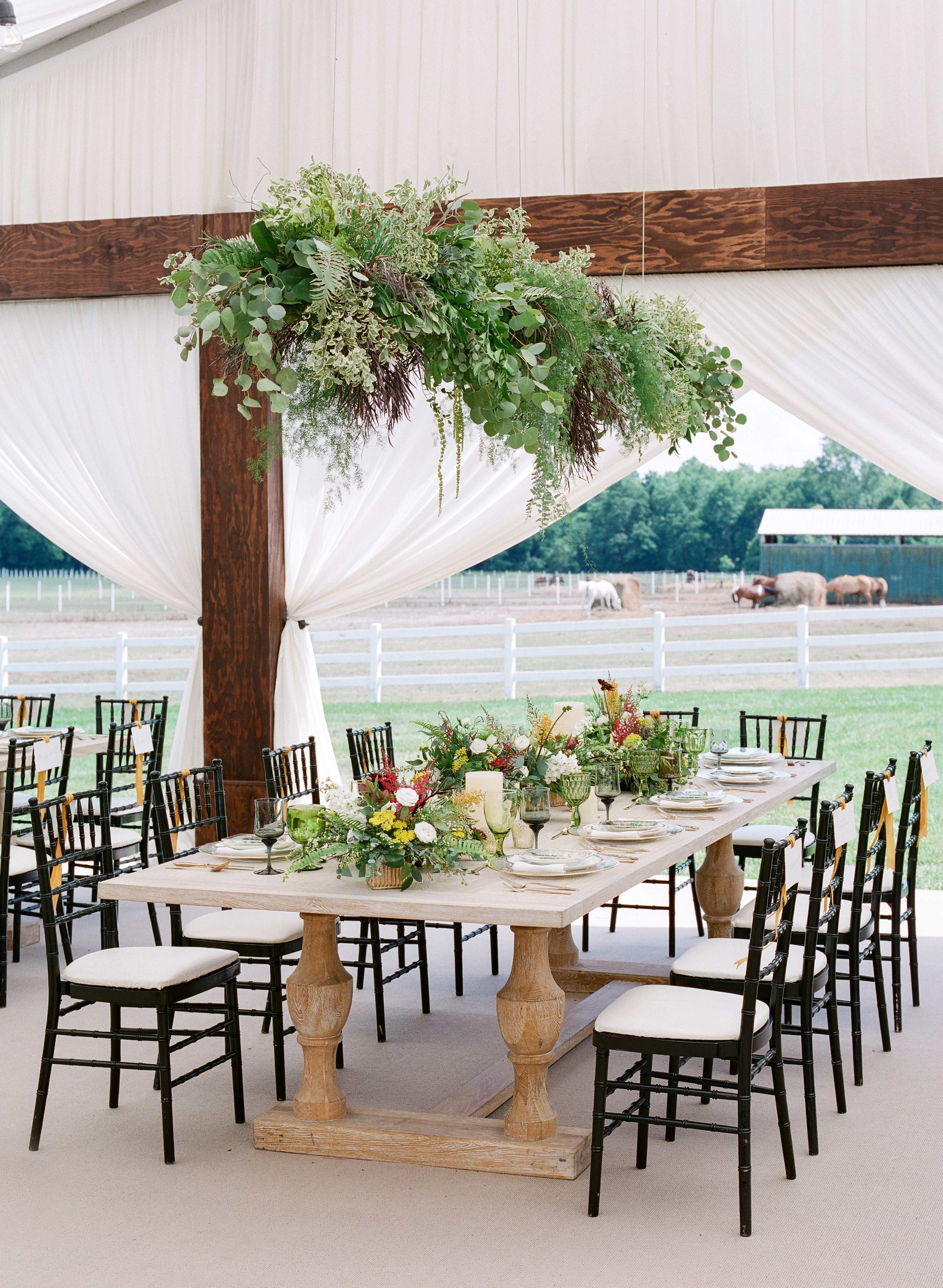 chrissy and jons reception tables