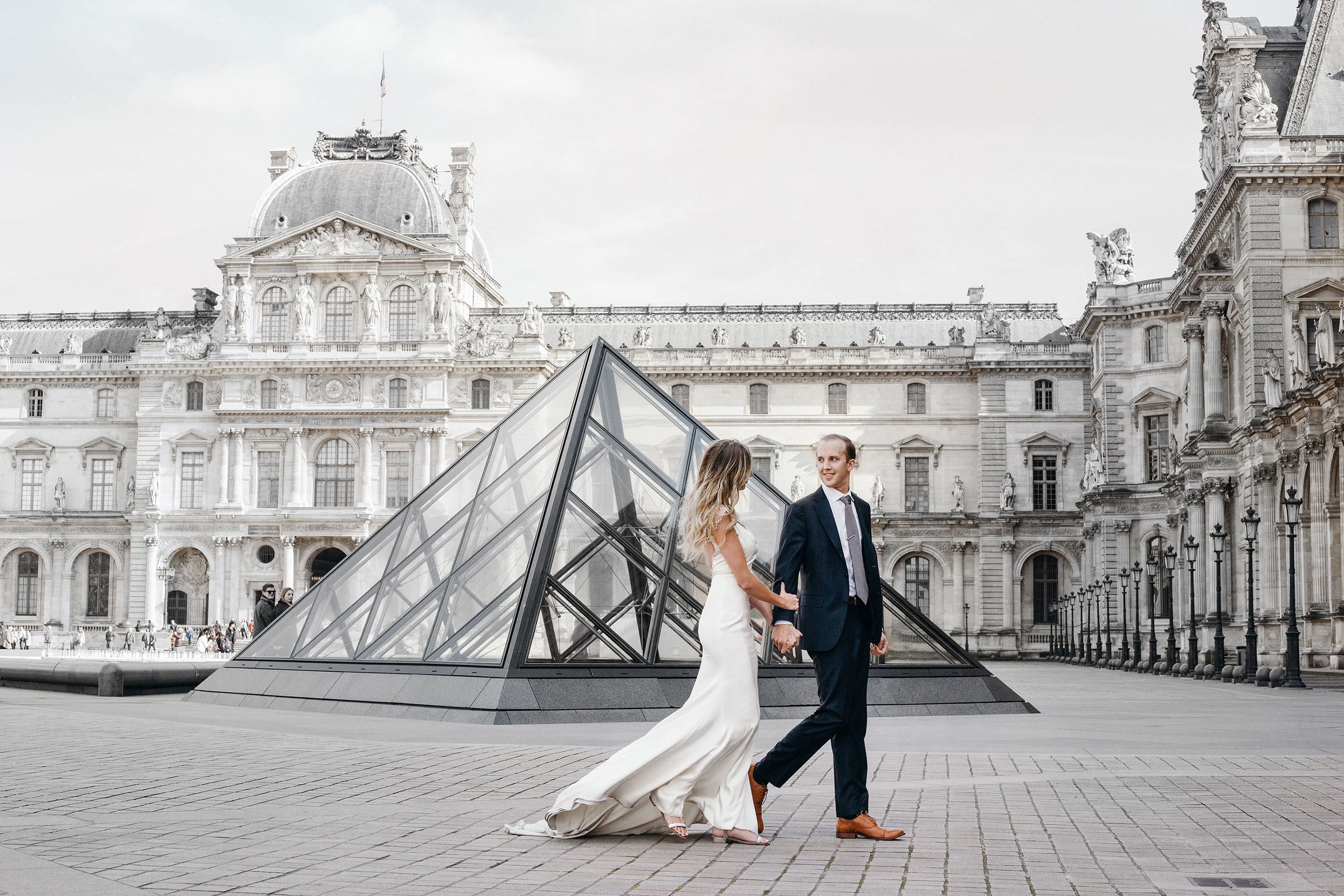 Carly Cristman Cody Carson Engagement Photos in Paris