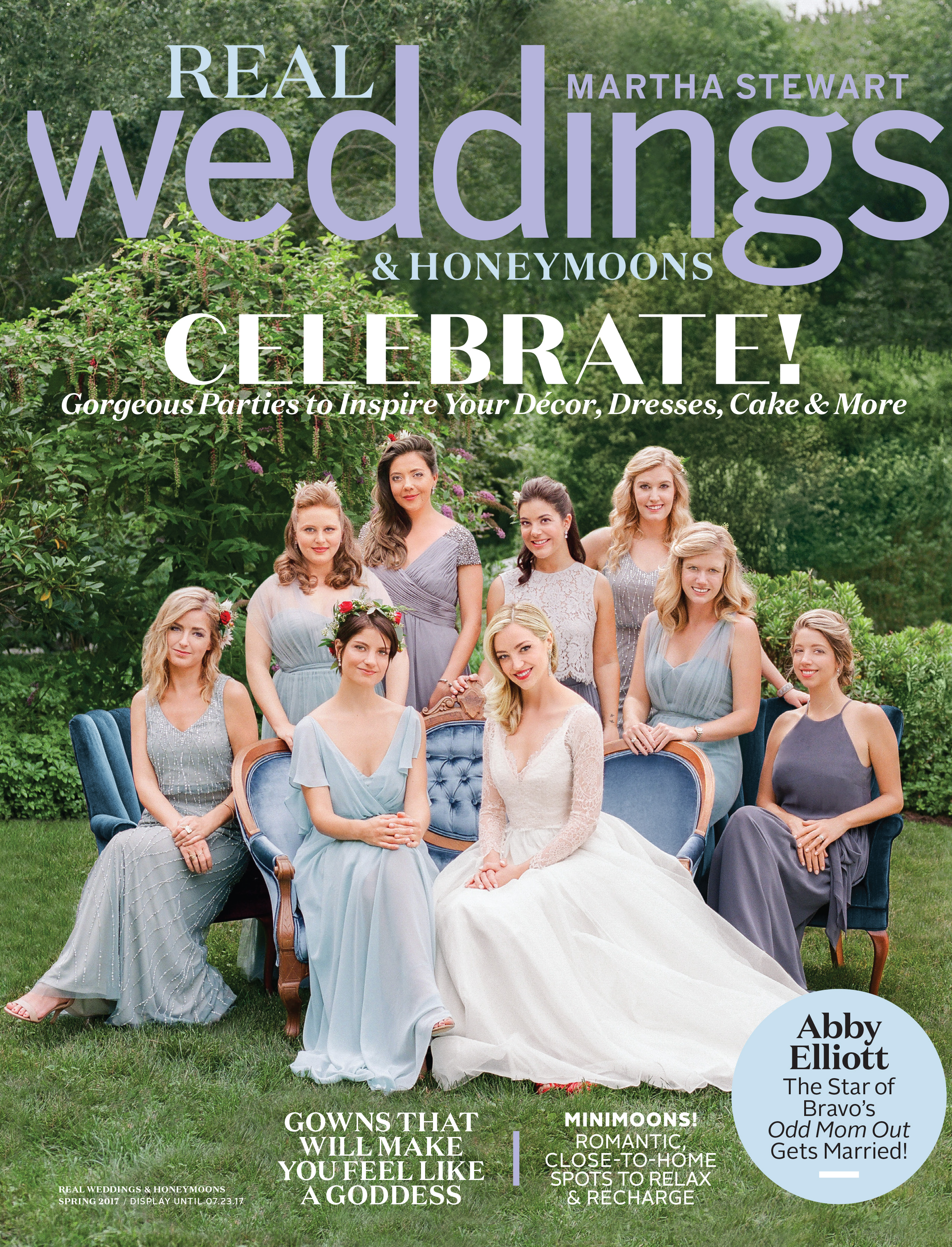 Real Weddings & Honeymoons Spring 2017 Cover