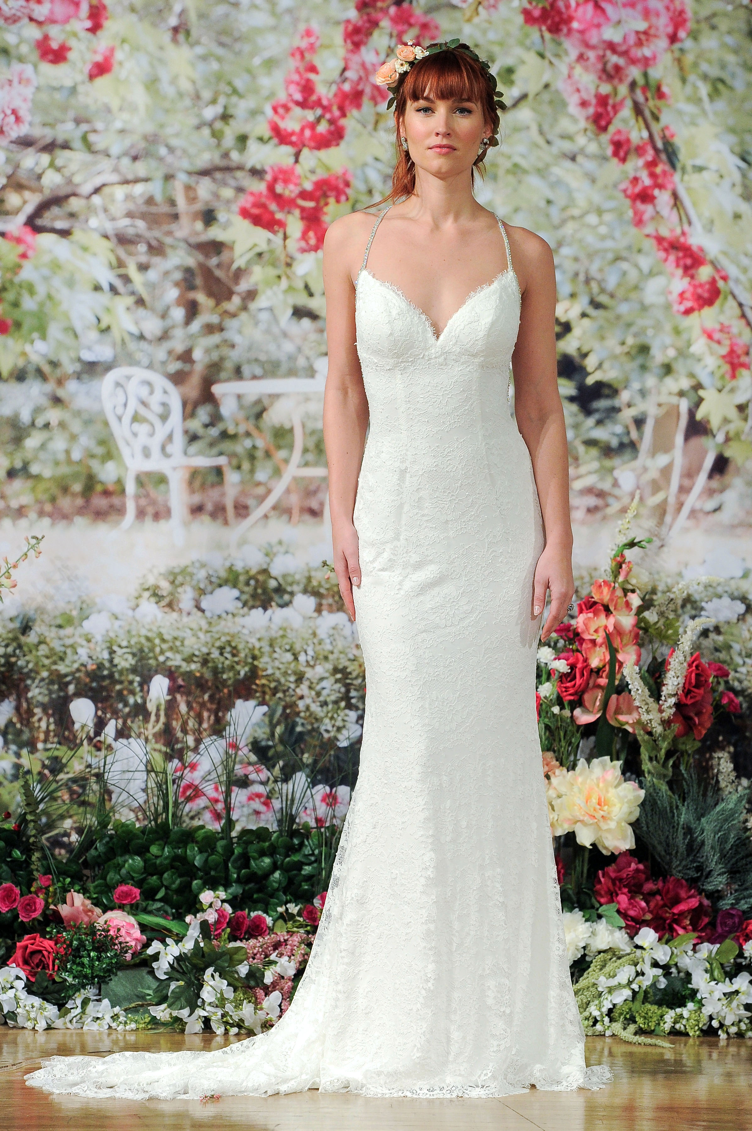 Maggie Sottero Fall 2017 Wedding Dress with Silver Straps