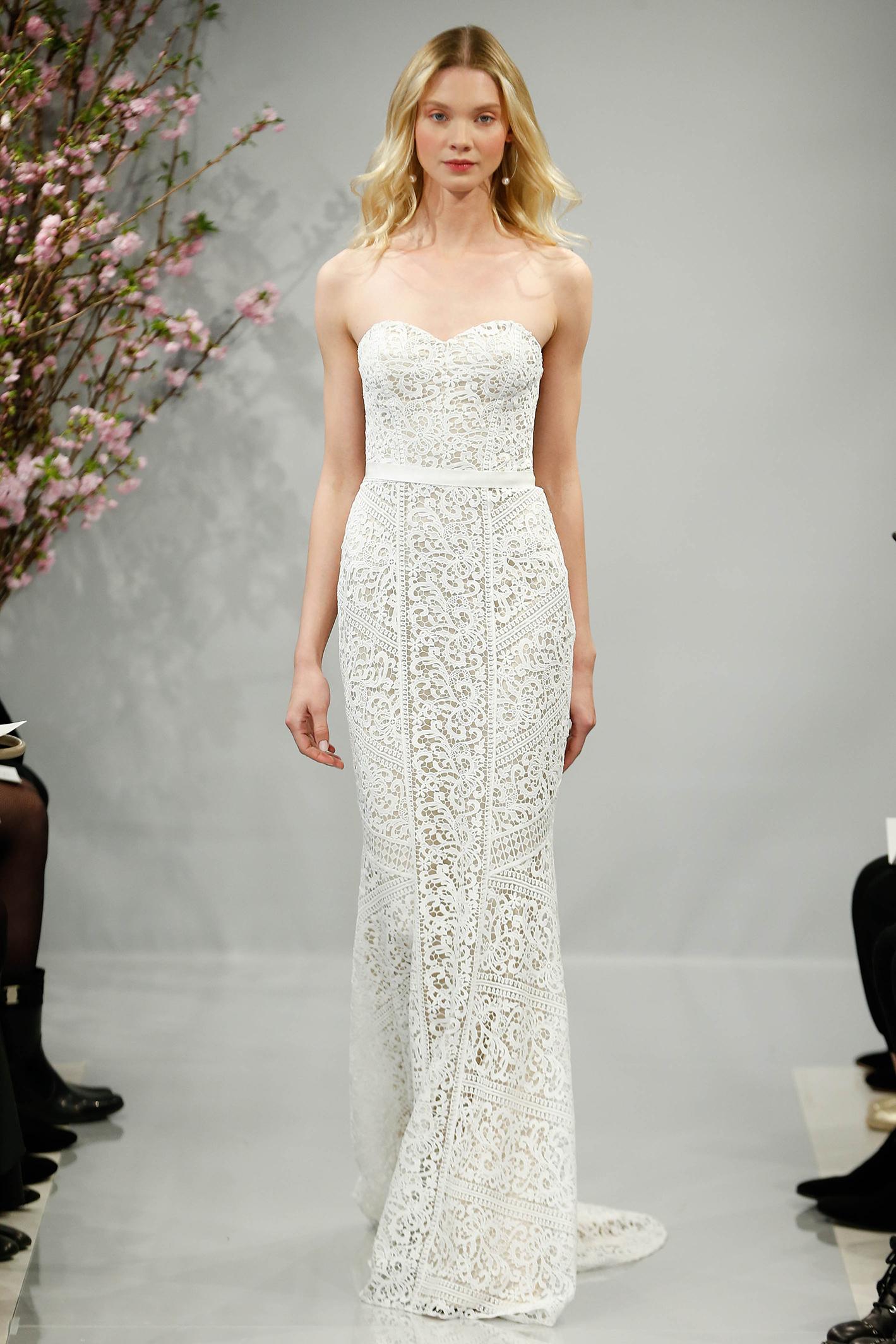 theia wedding dress spring 2018 sweetheart a-line sash