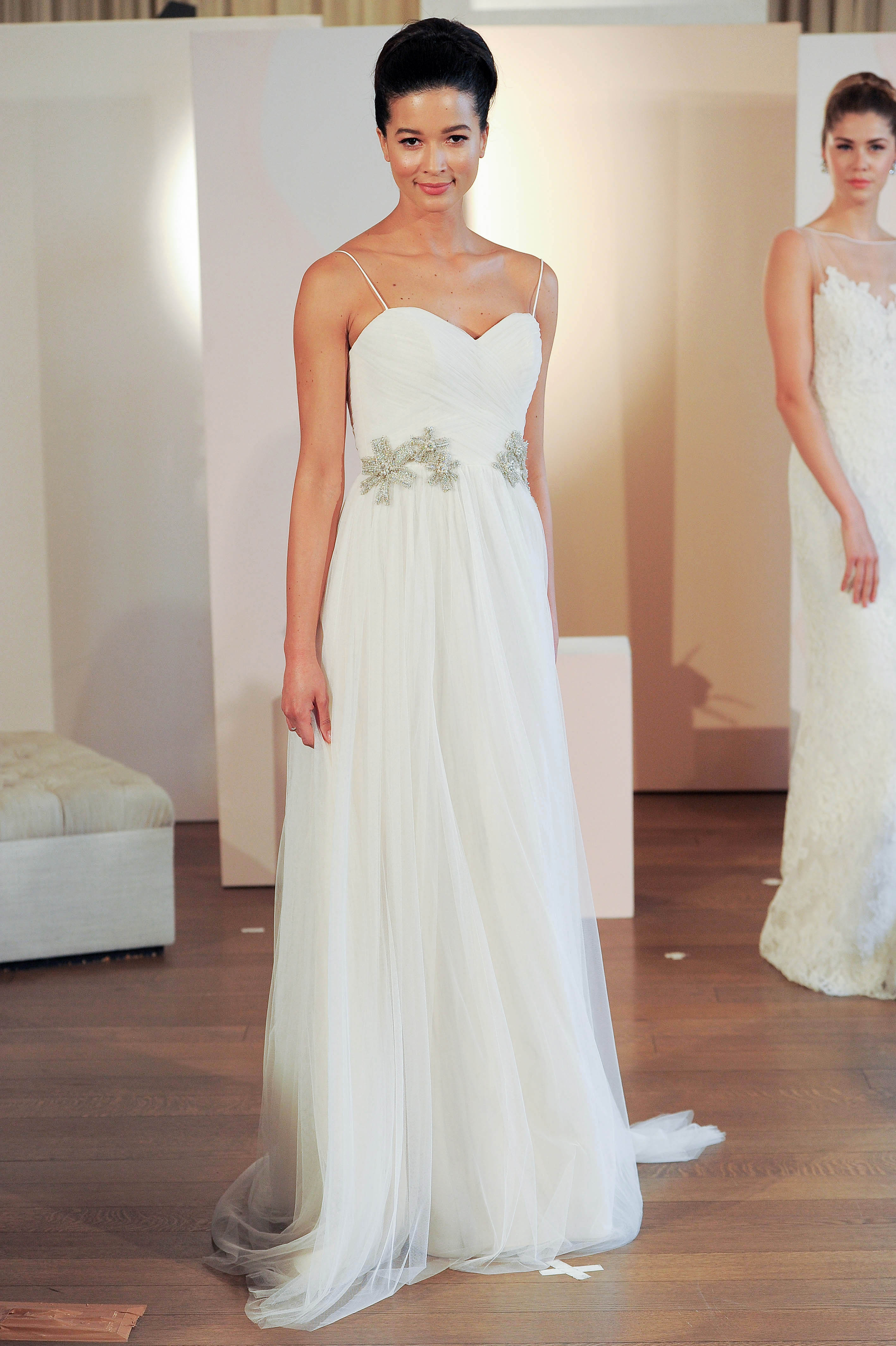 anne barge spaghetti strap sweetheart wedding dress spring 2018