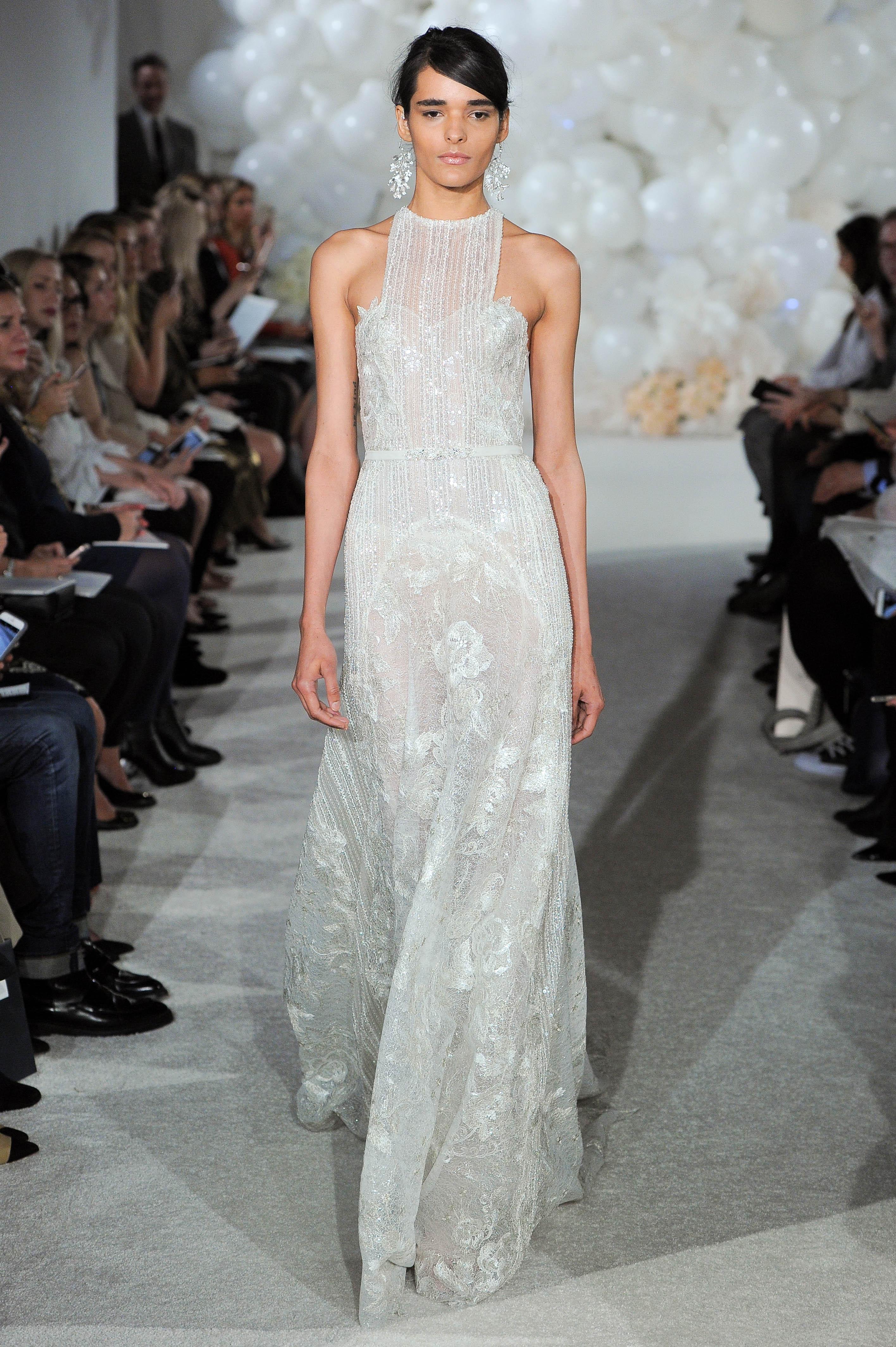 mira zwillinger wedding dress spring 2018 halter lace